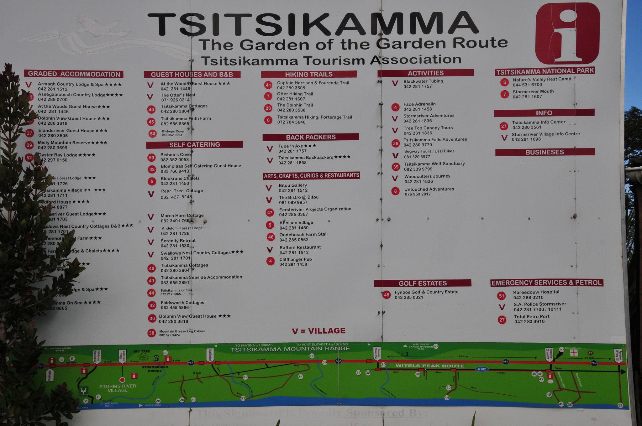 Tag 9 - Auf der Garden Route zum Tsitsikama National Park