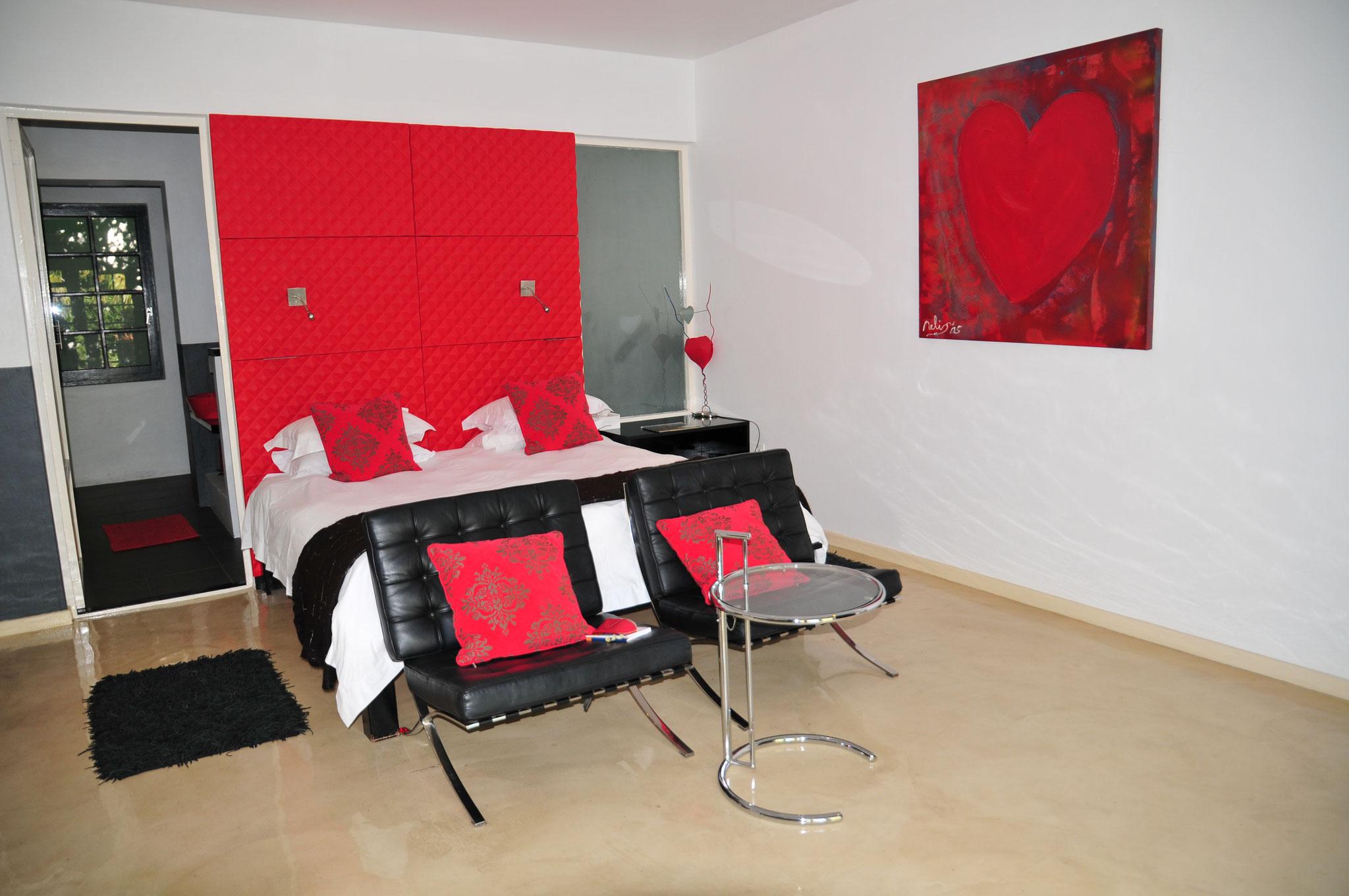 Das rote Zimmer...