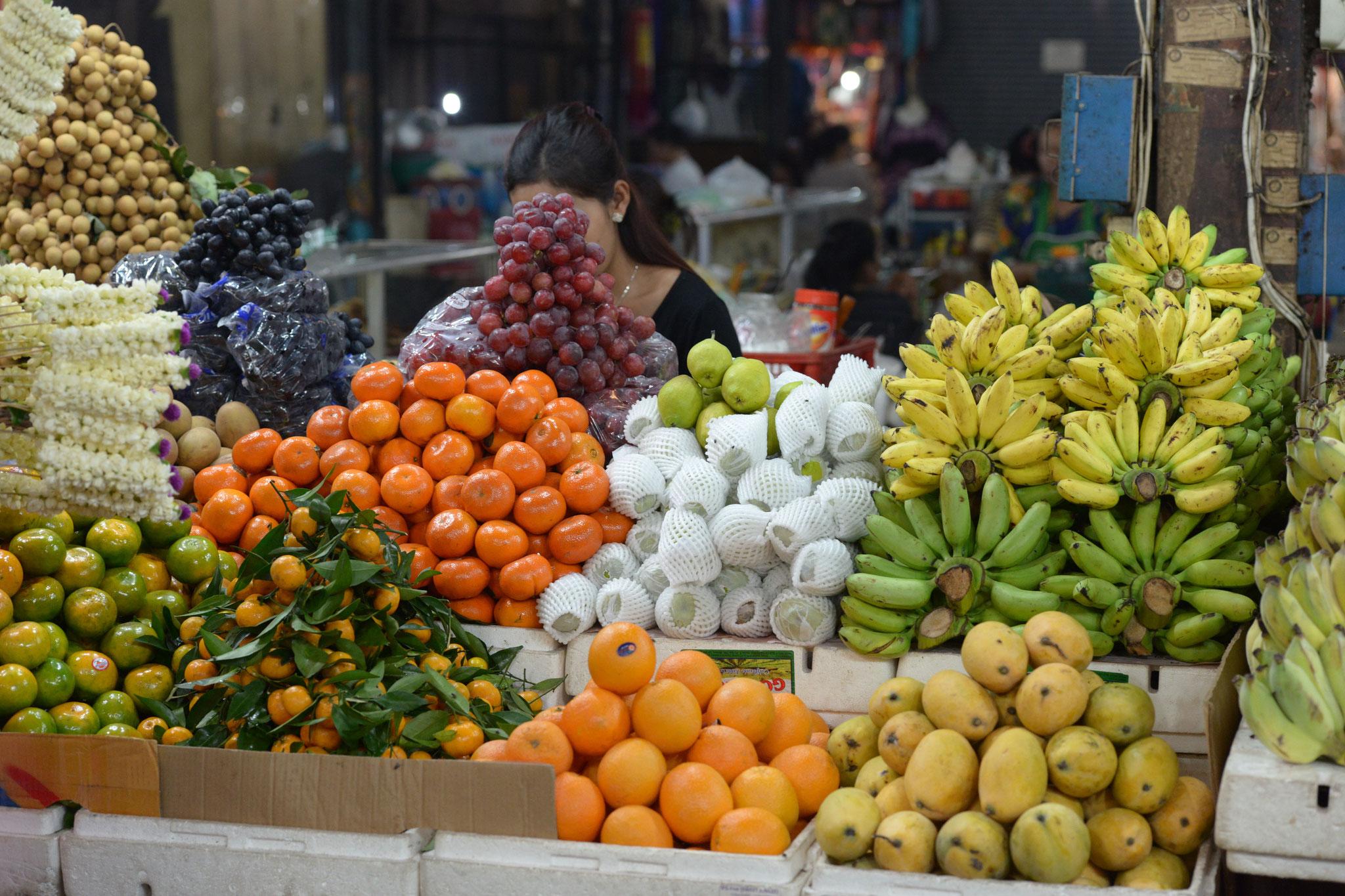 Farbenfrohe Früchte