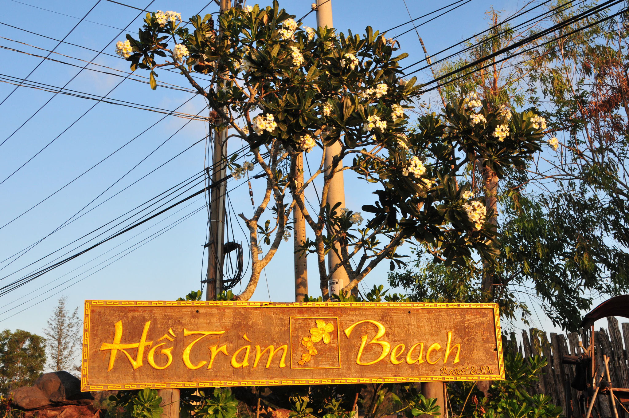 Ankunft in Ho Tram - unsere Strandwoche (Tag 20 - 28) startet hier