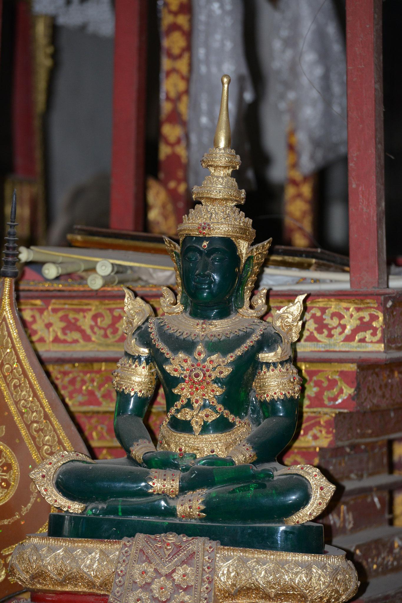Ein Smaragd Buddha