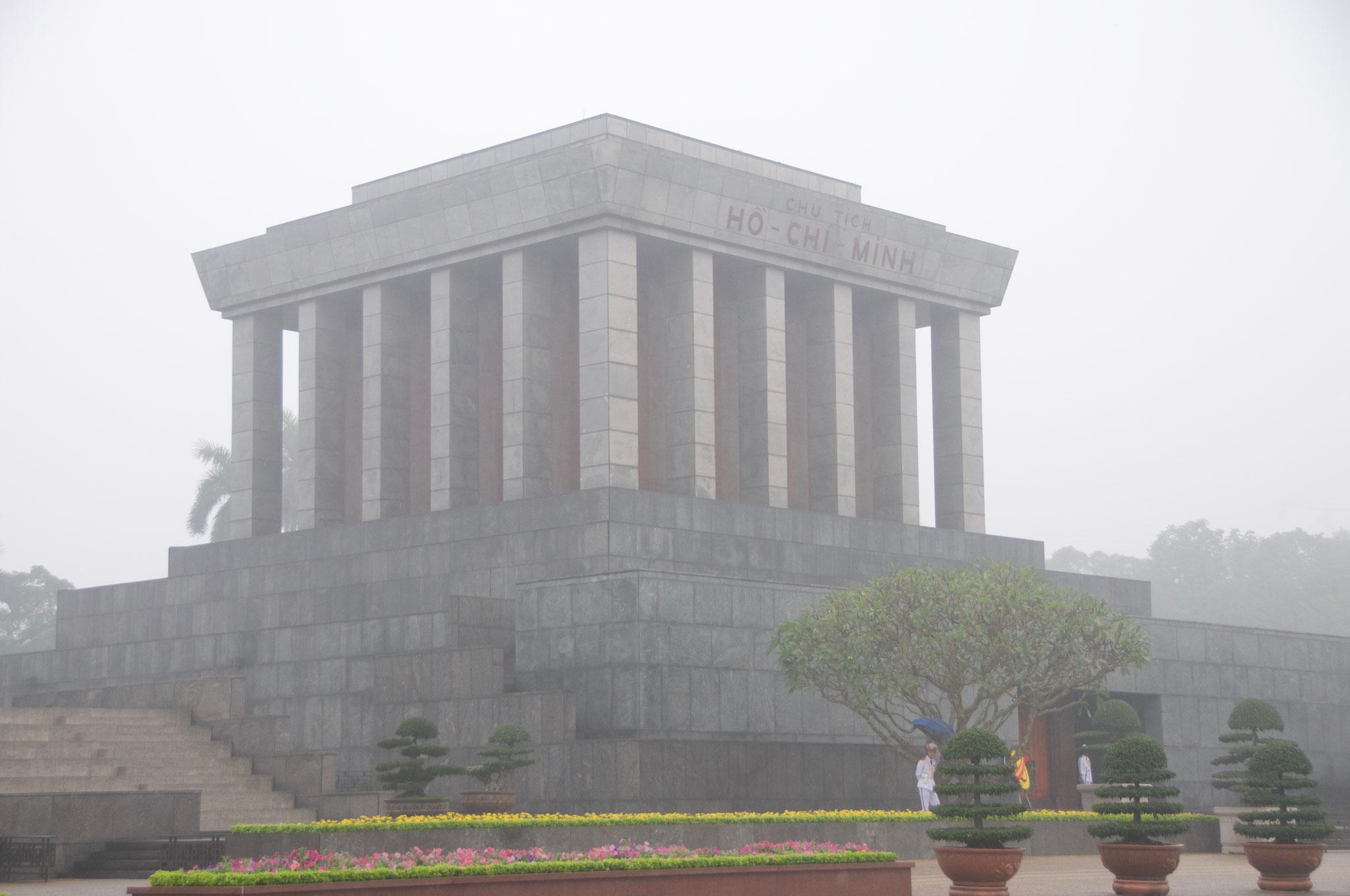 Das Ho Chi Minh Mausoleum