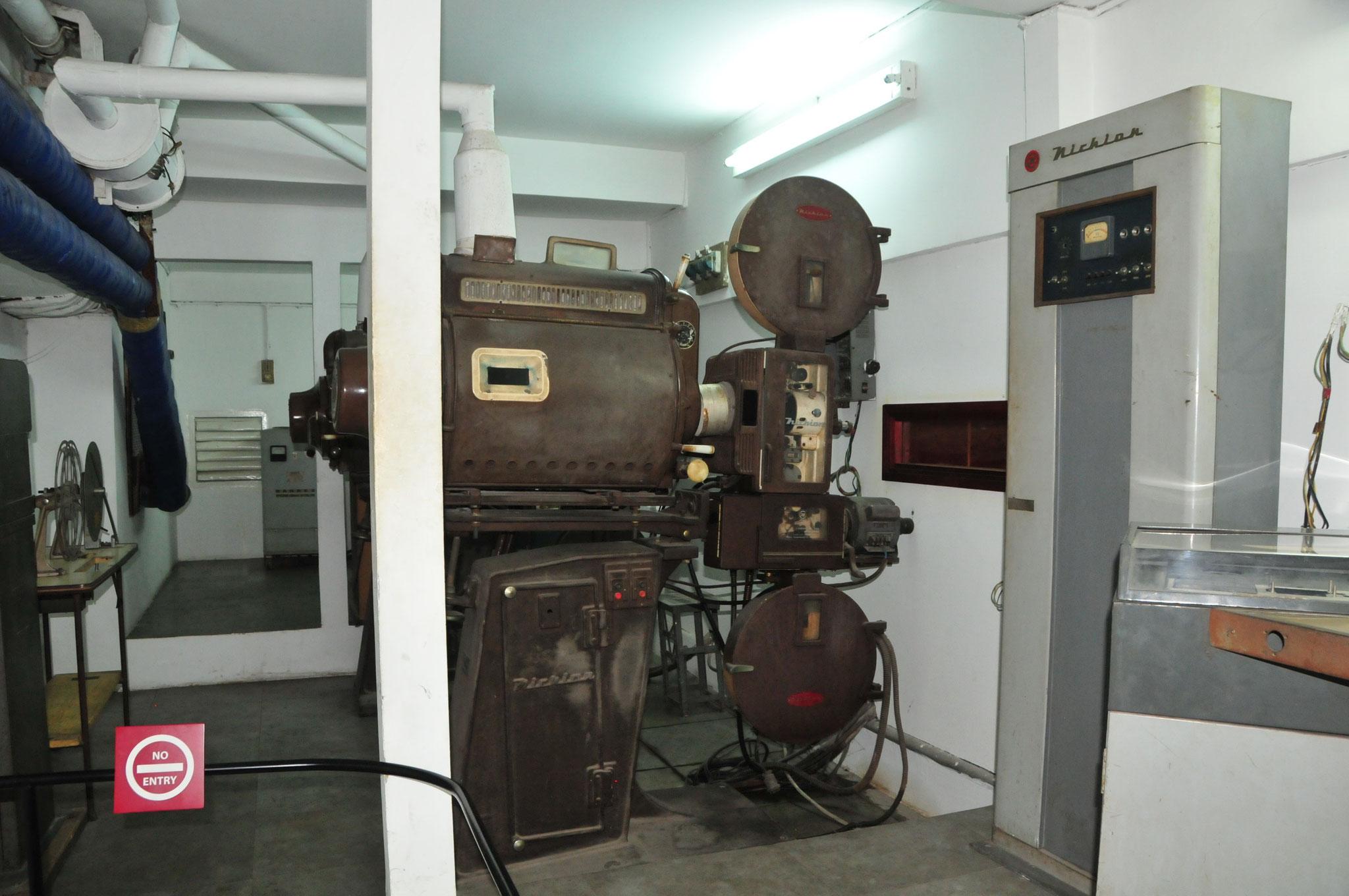 Hier wurde jeder Film erst zensuriert, bevor er im Land ausgestrahl werden durfte