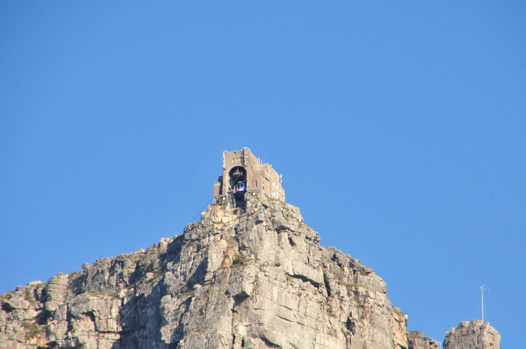 Der Tafelberg mit der Seilbahn