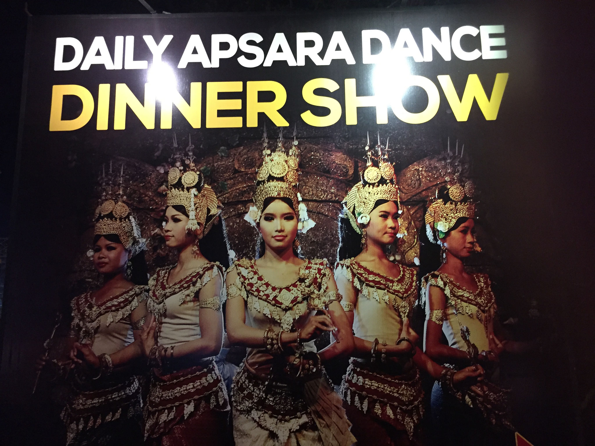 Abendessen mit einer Apsara Dance Show