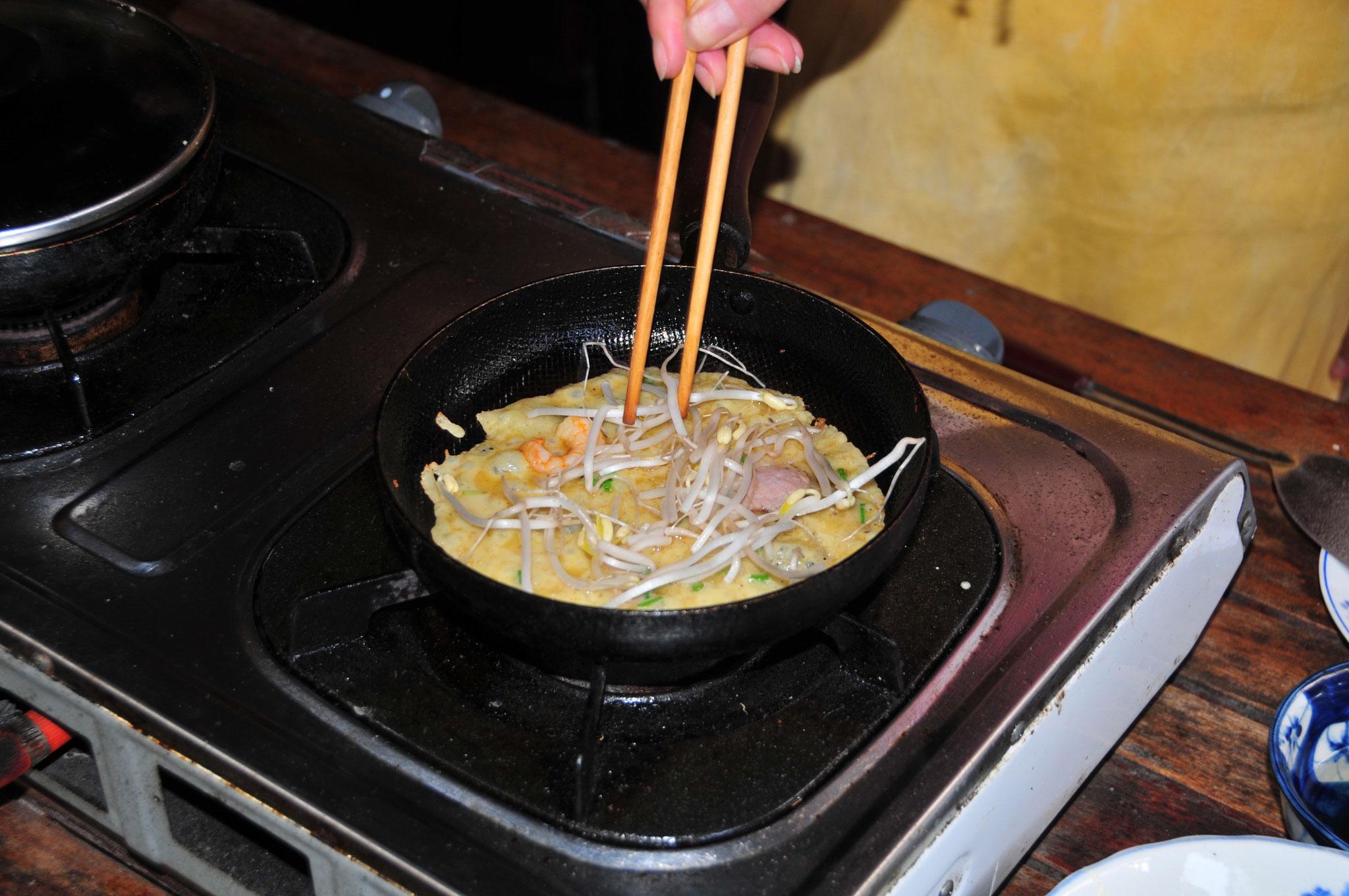 Wir erlernen die Zubereitung traditioneller Speisen