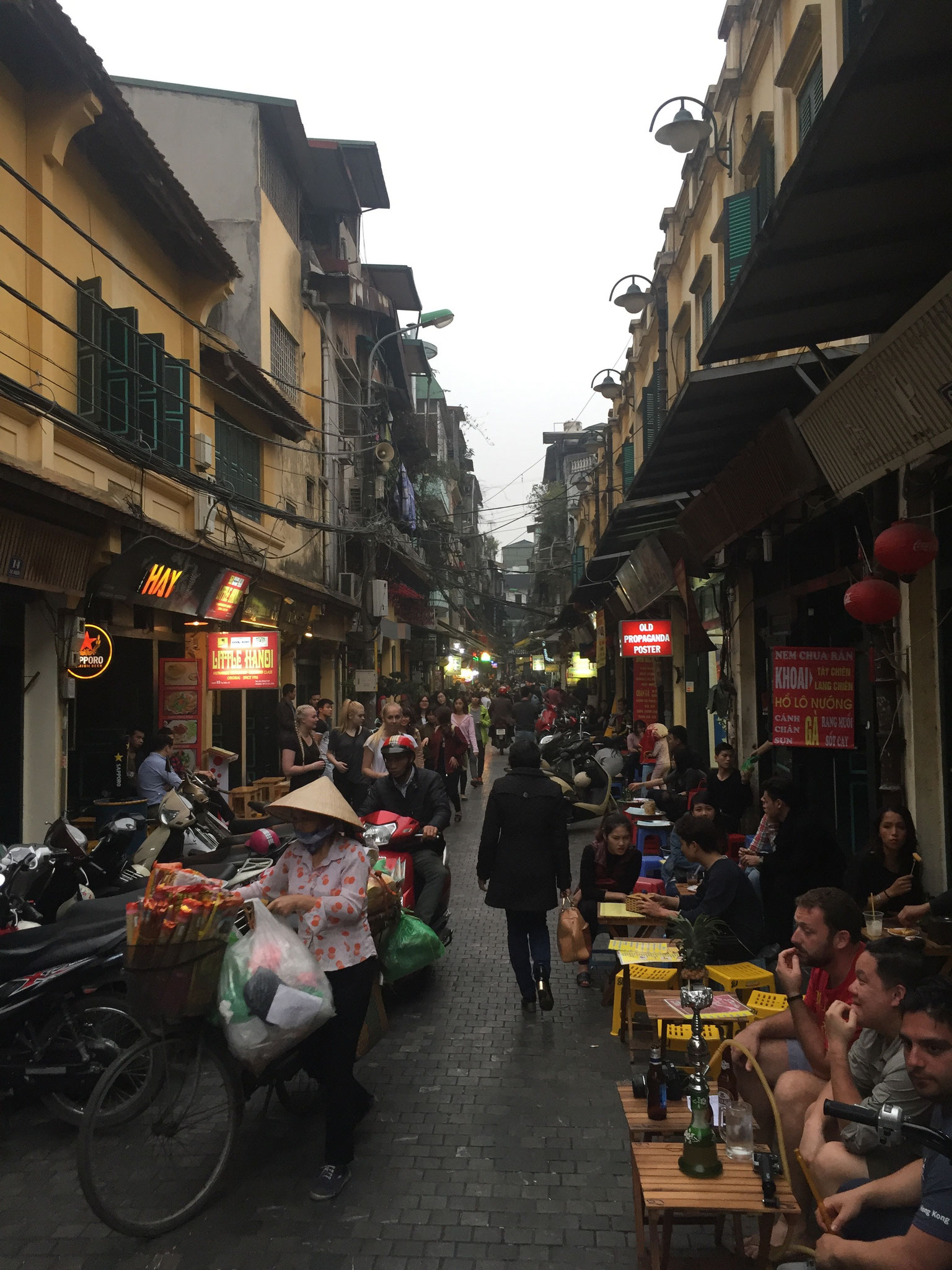 Das Altstadtviertel der 36 Strassen