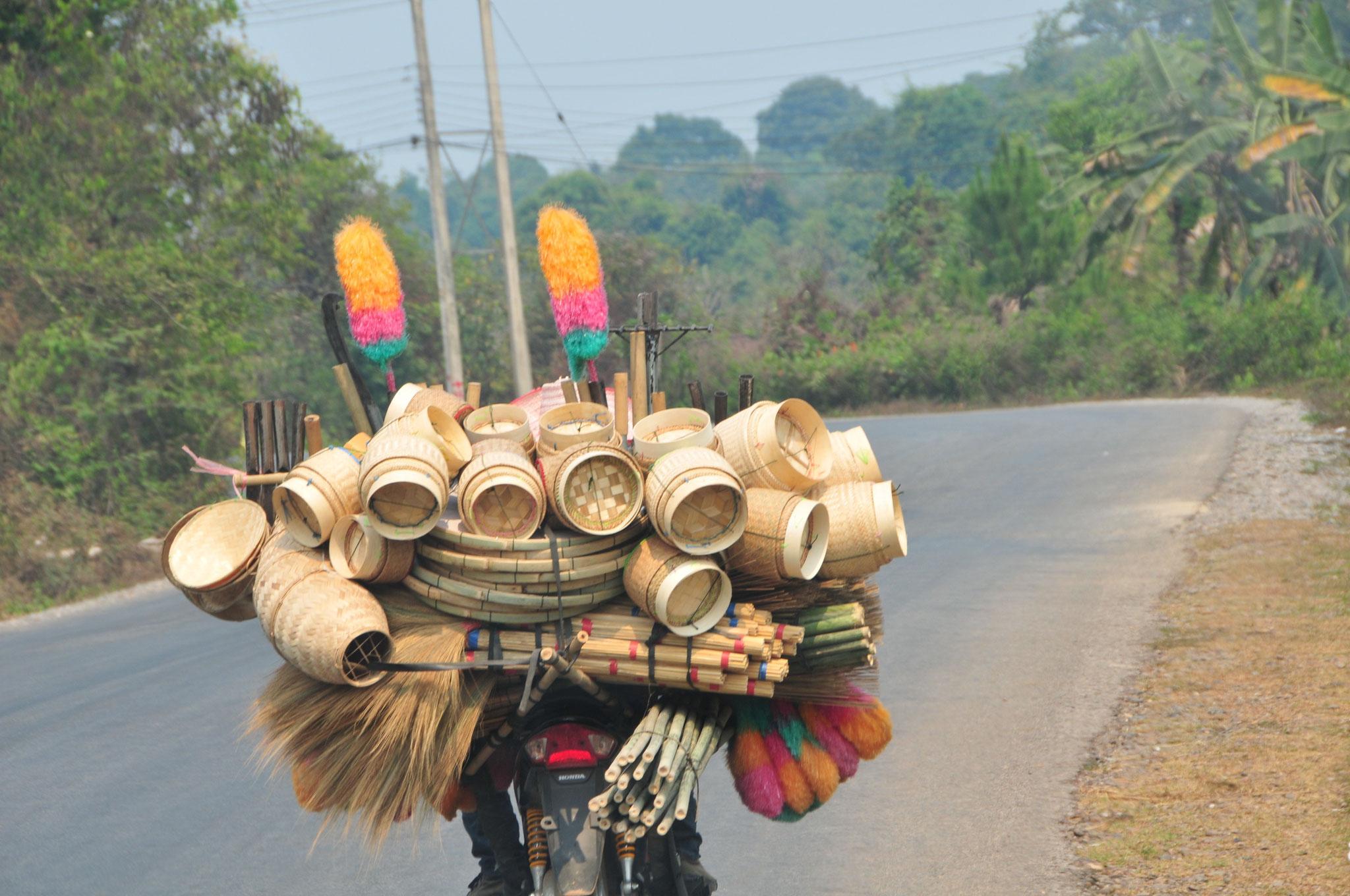 Tag 7 - Transfer von Vientiane nach Vang Vieng