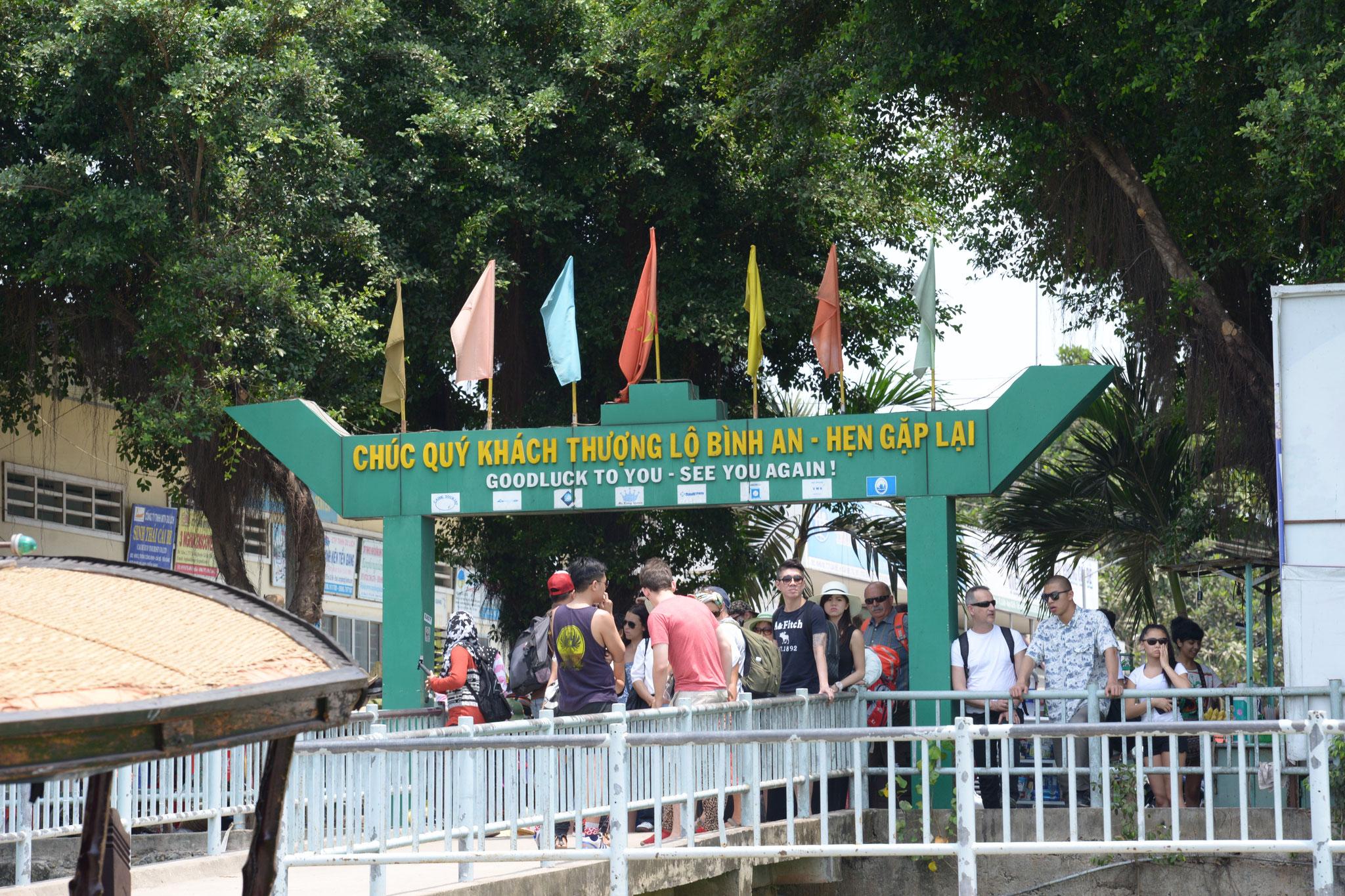 Bootsausflug auf dem Mekong