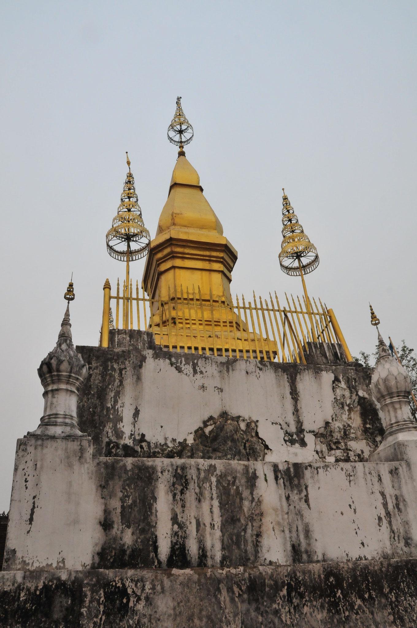 Die goldene Stupa