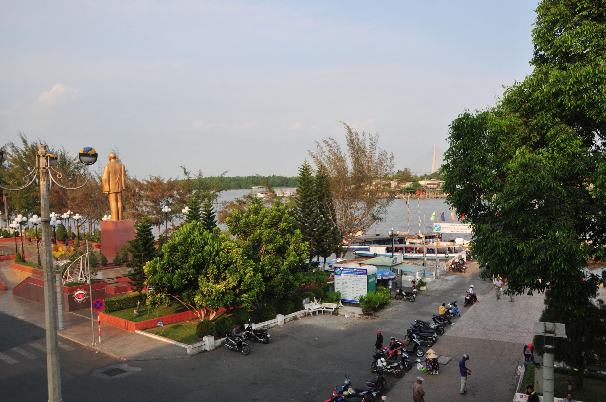 Aussicht vom Nam Bo Boutique Hotel