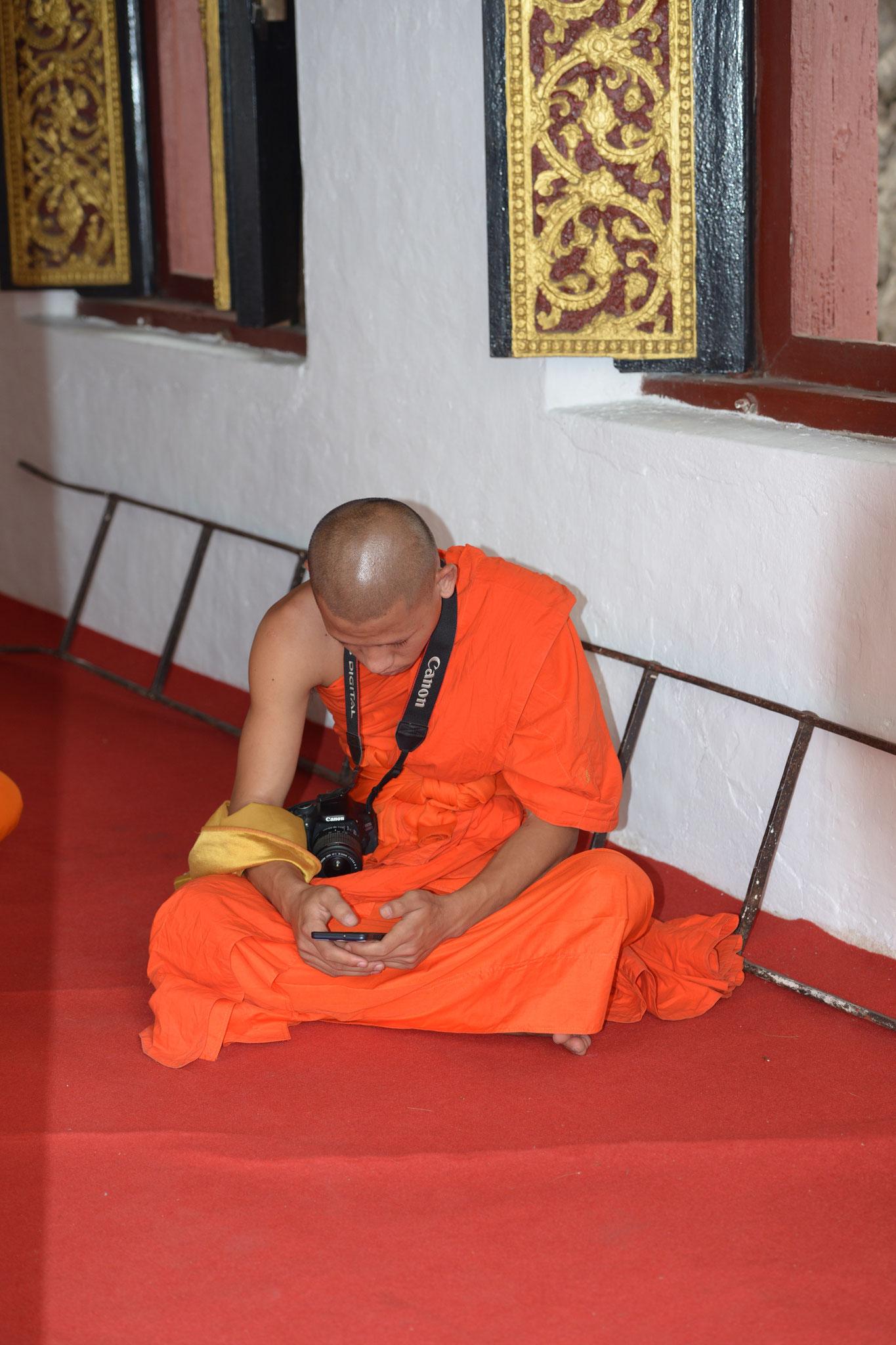 Ein typischer besitzloser Mönch :-)