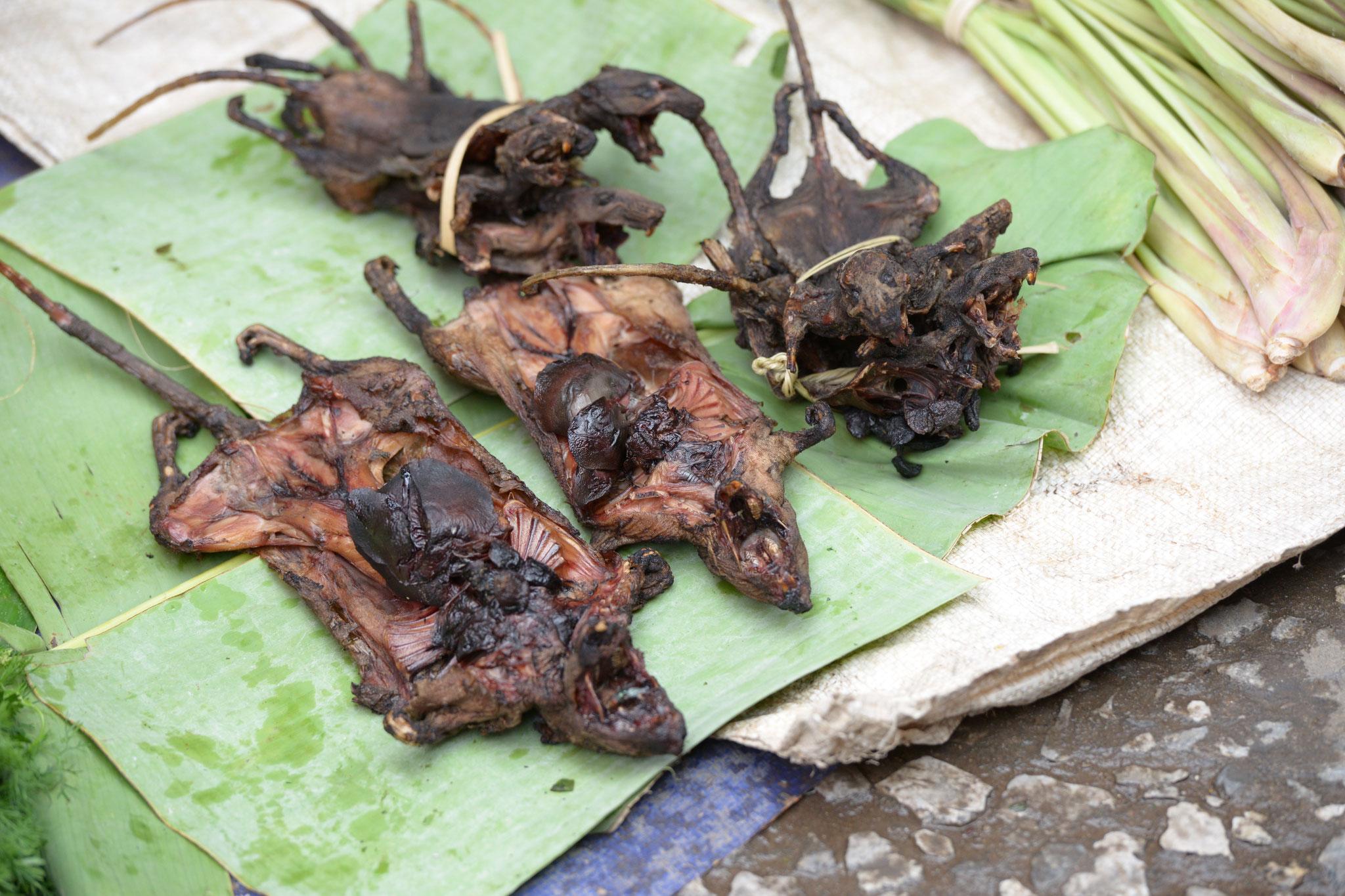 ... und grillierte Ratten