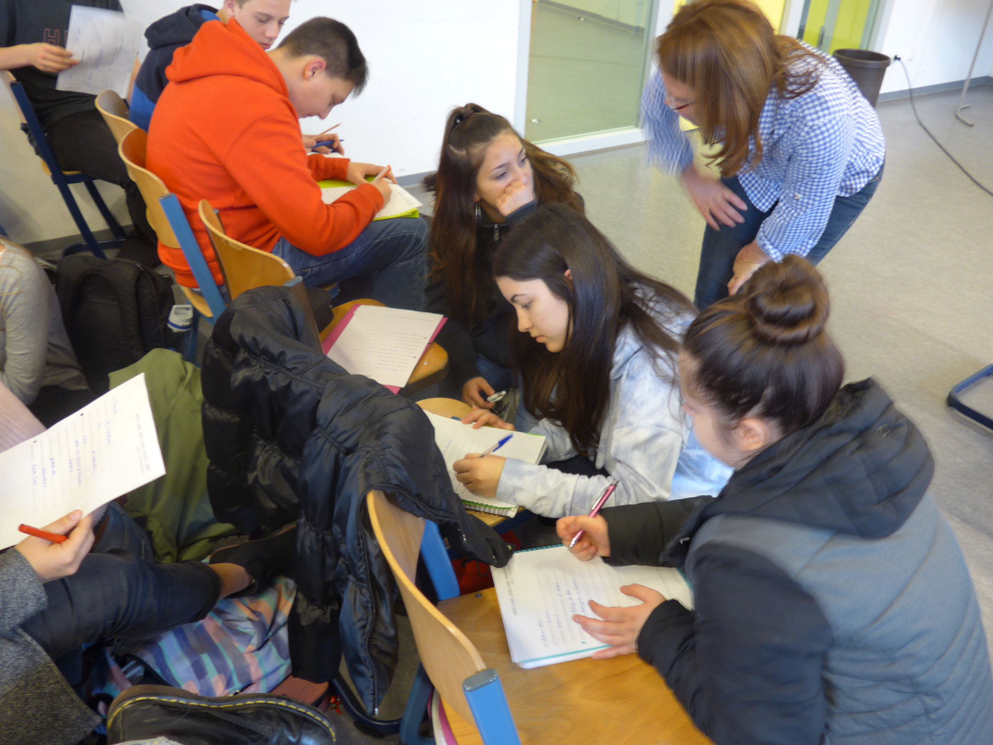 Kennenlernen in Kleingruppen