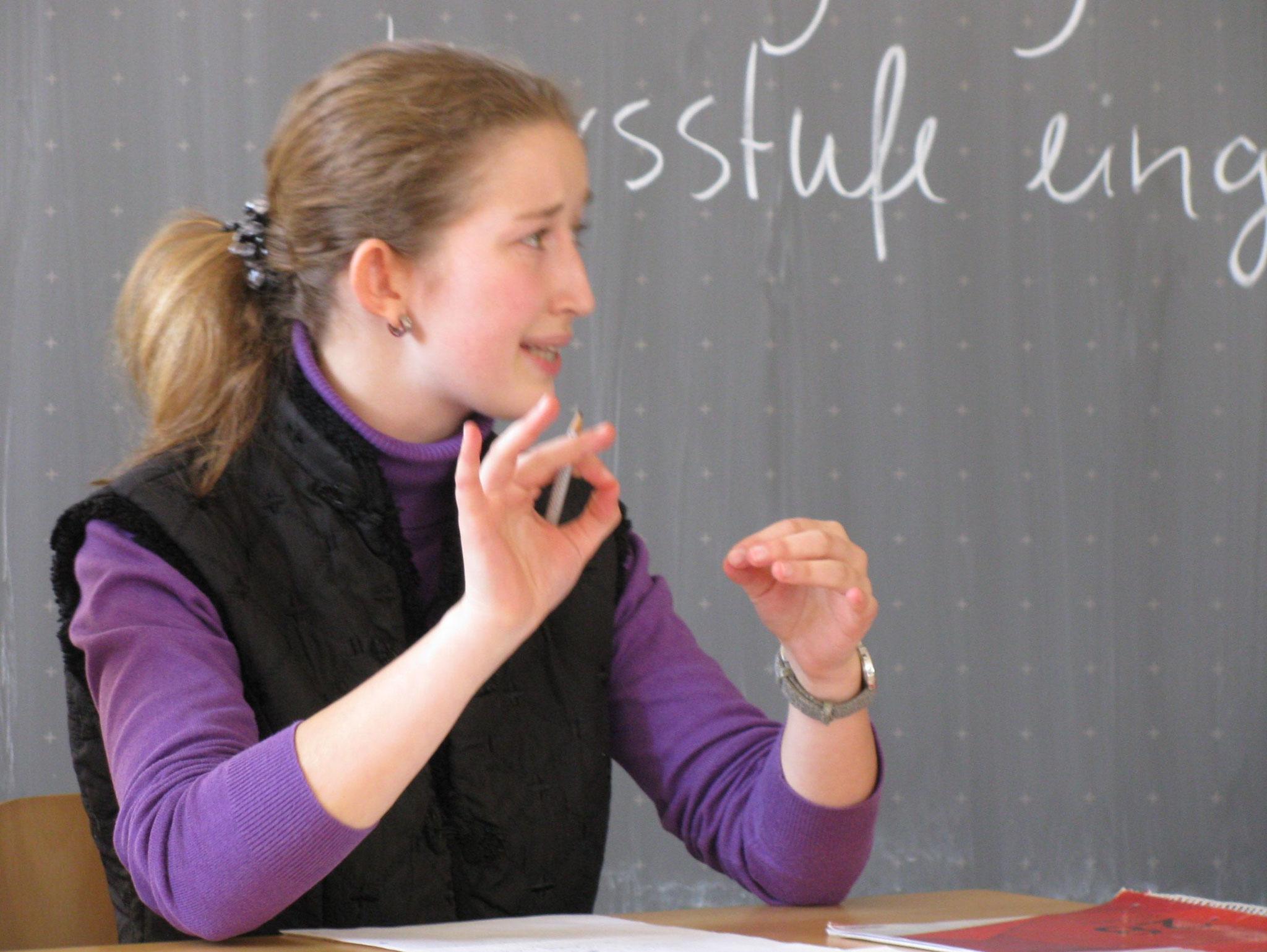 """Training für """"Jugend debattiert"""""""