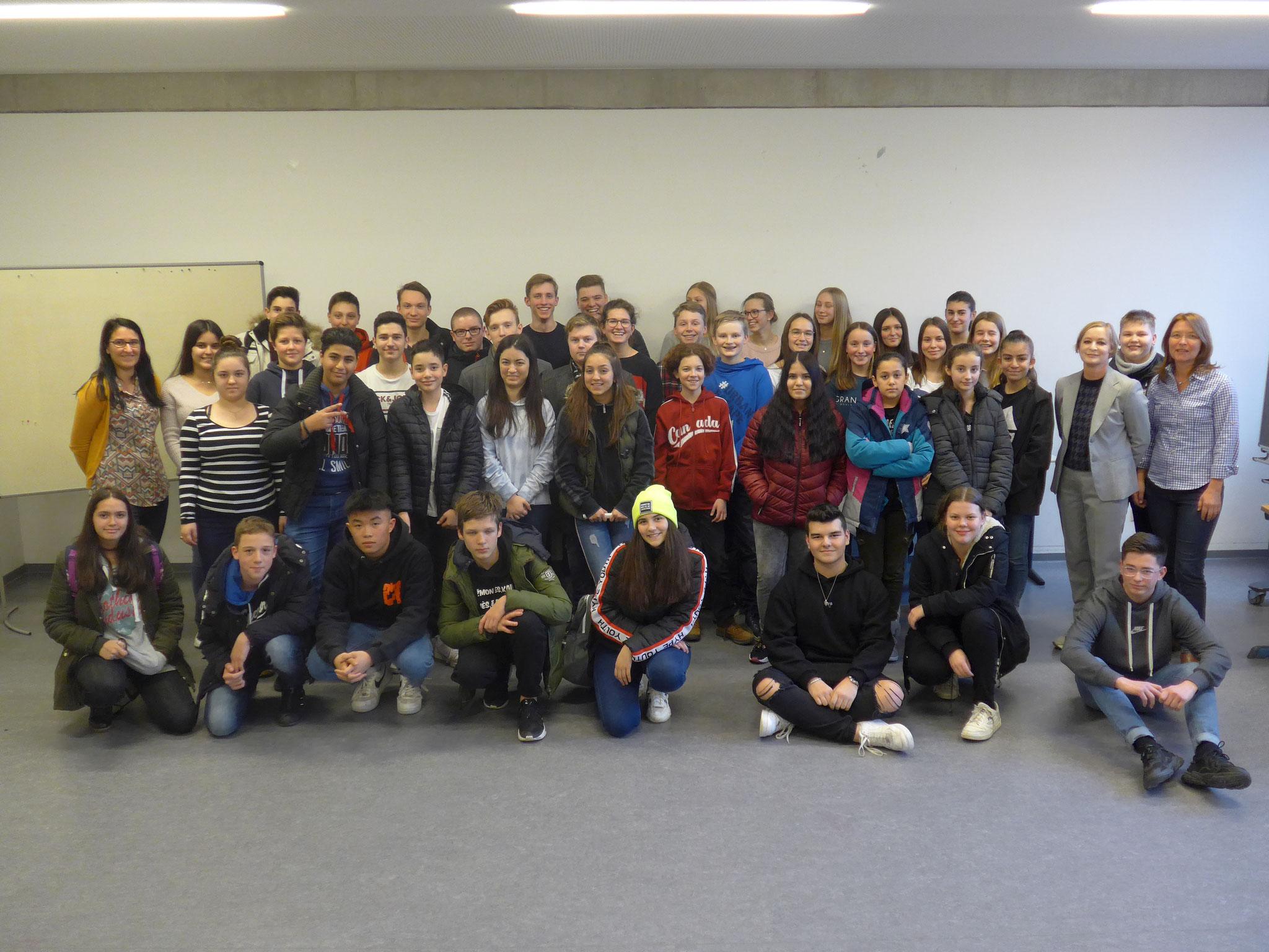 Teilnehmer des KommMit-Projekts 2019/2020