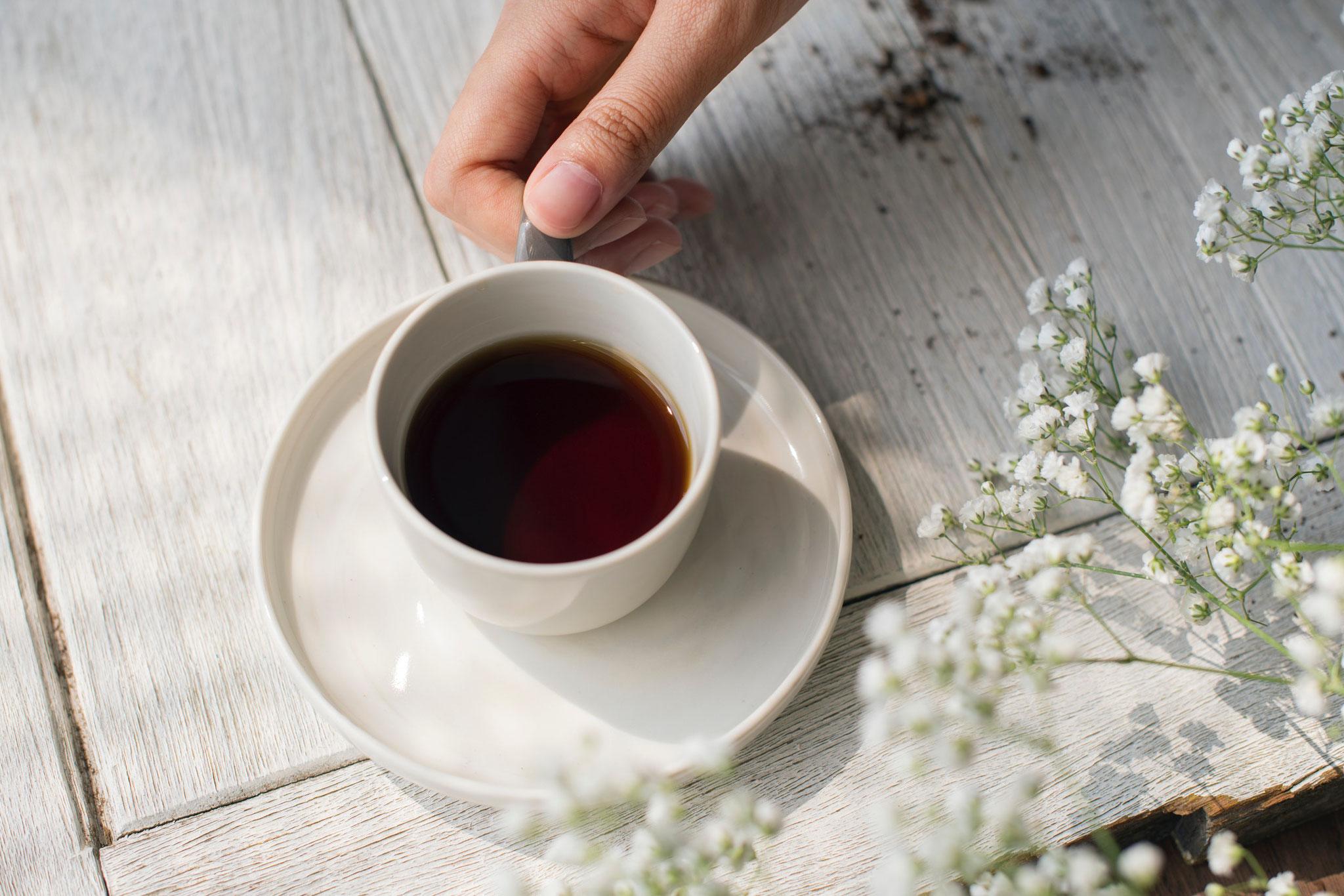 Koffein: Kaffee oder Grüner Tee als Stoffwechselbooster
