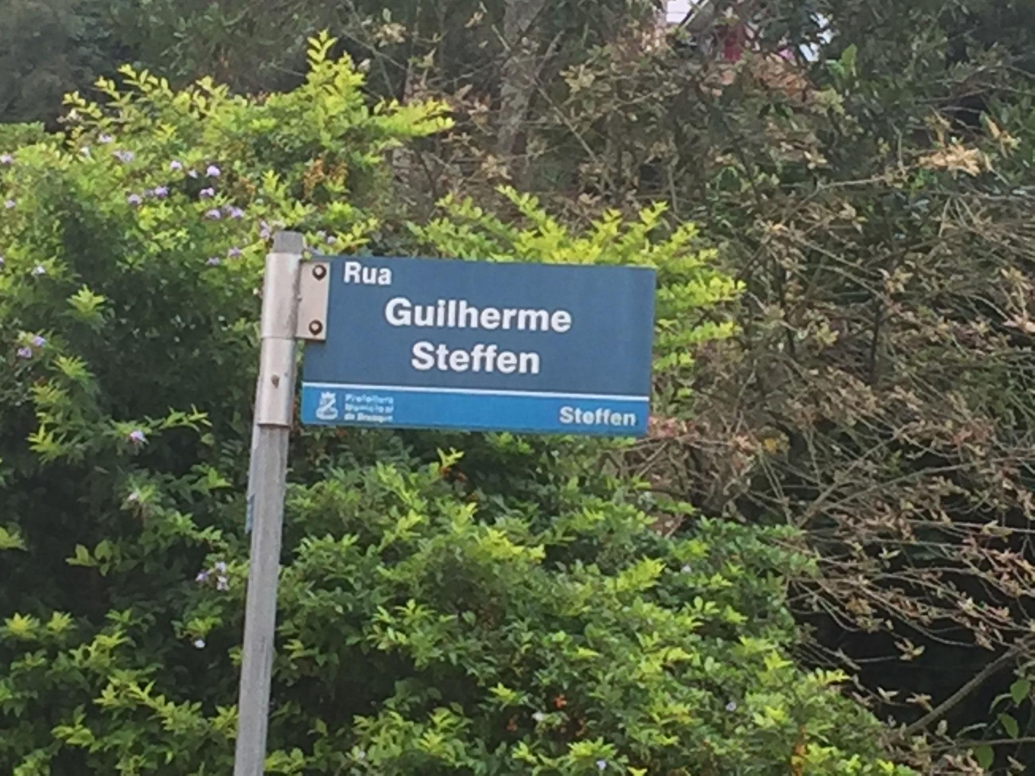 Strassen mit dem Namen Steffen