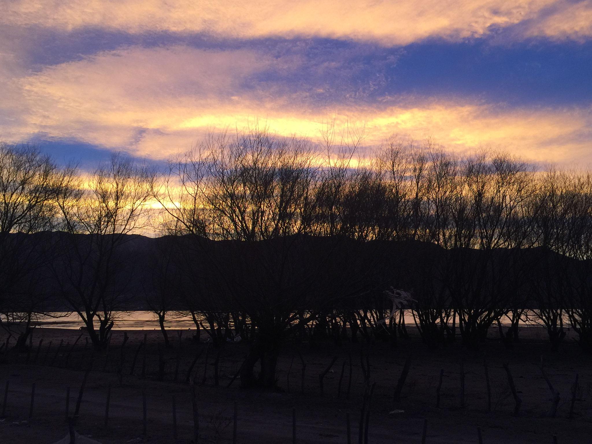 und traumhaftem Sonnenuntergang!