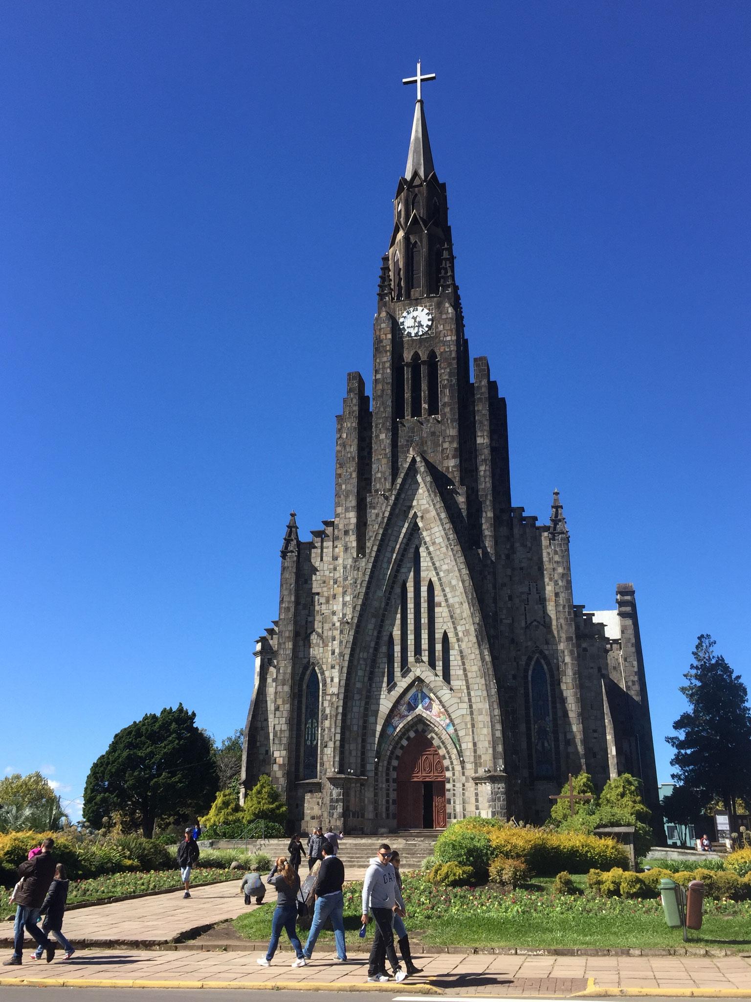 Kirche in Canela.....
