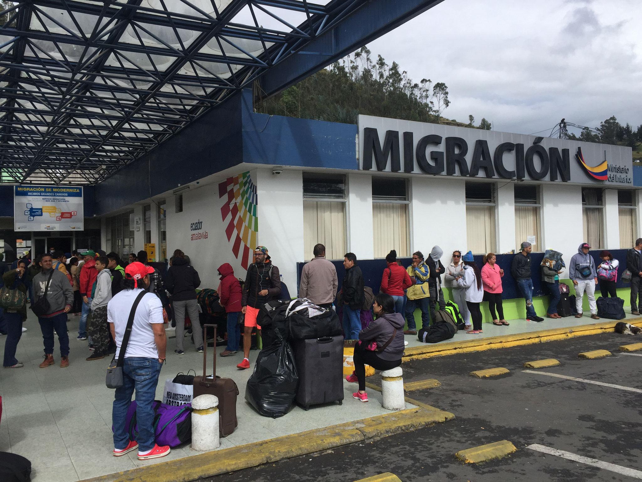 Grenze Ecuador