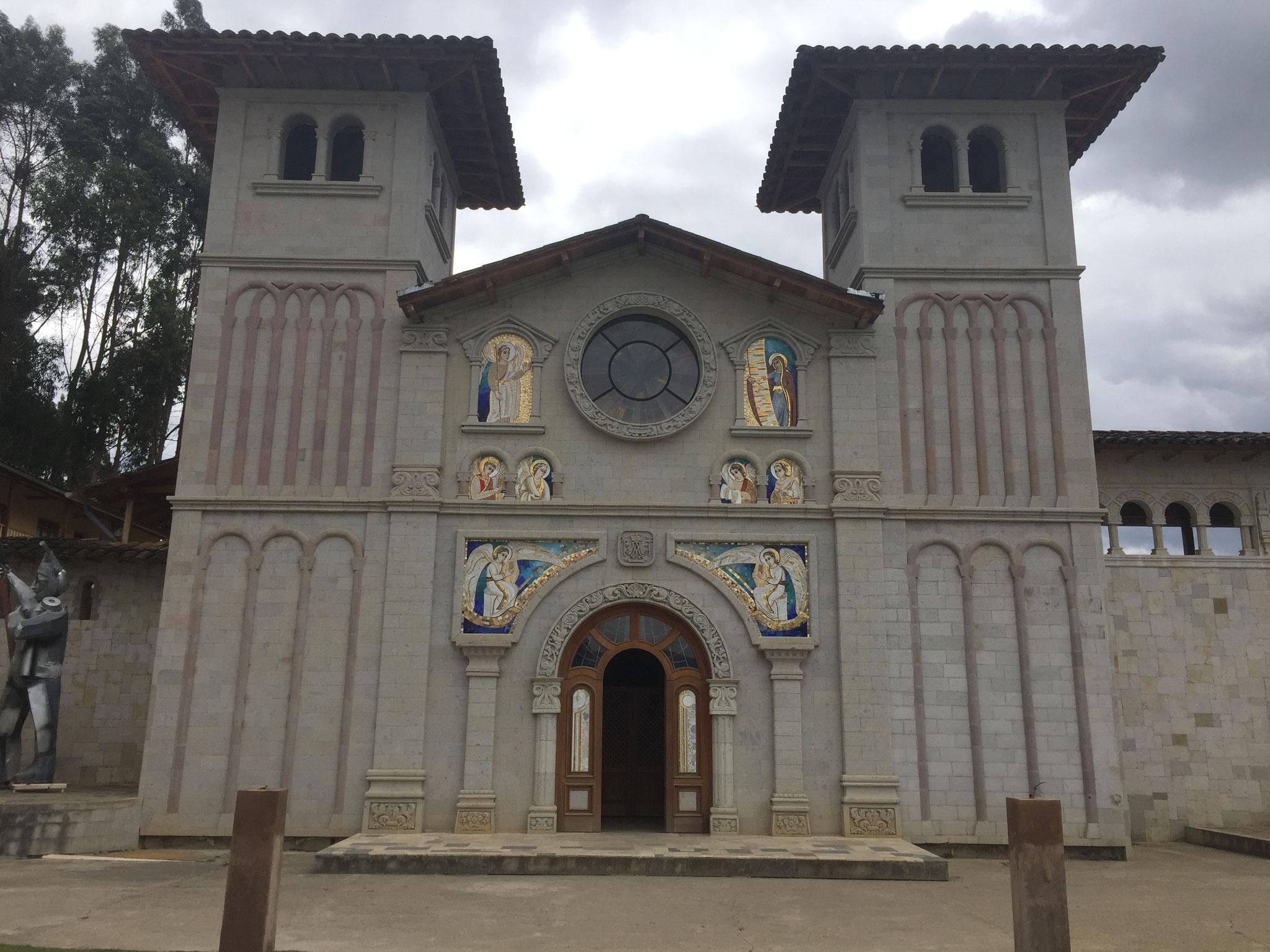 Mosaikkirche in ausserhalb Cajamarca