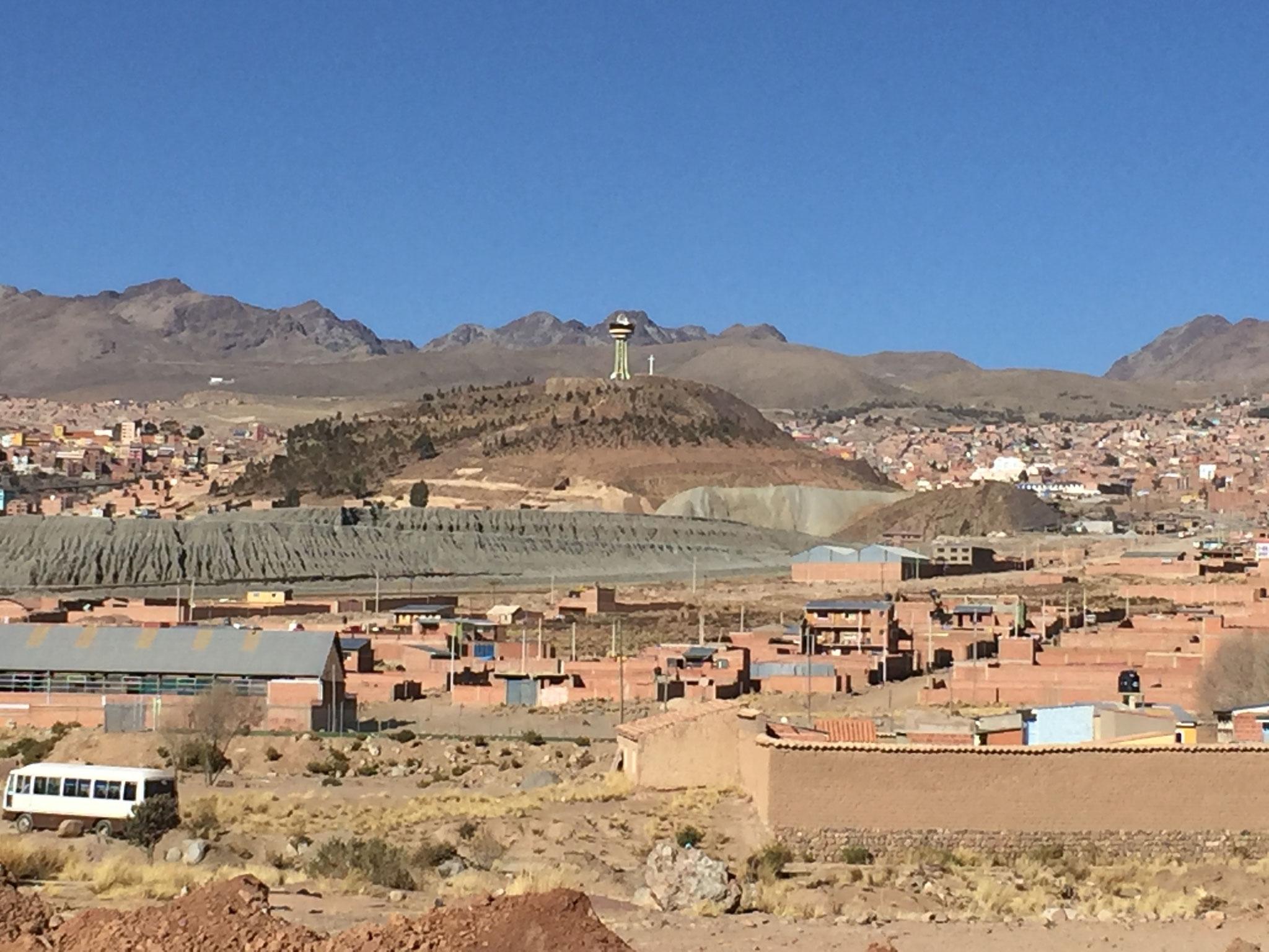 Potosi mit dem Cerro Rico