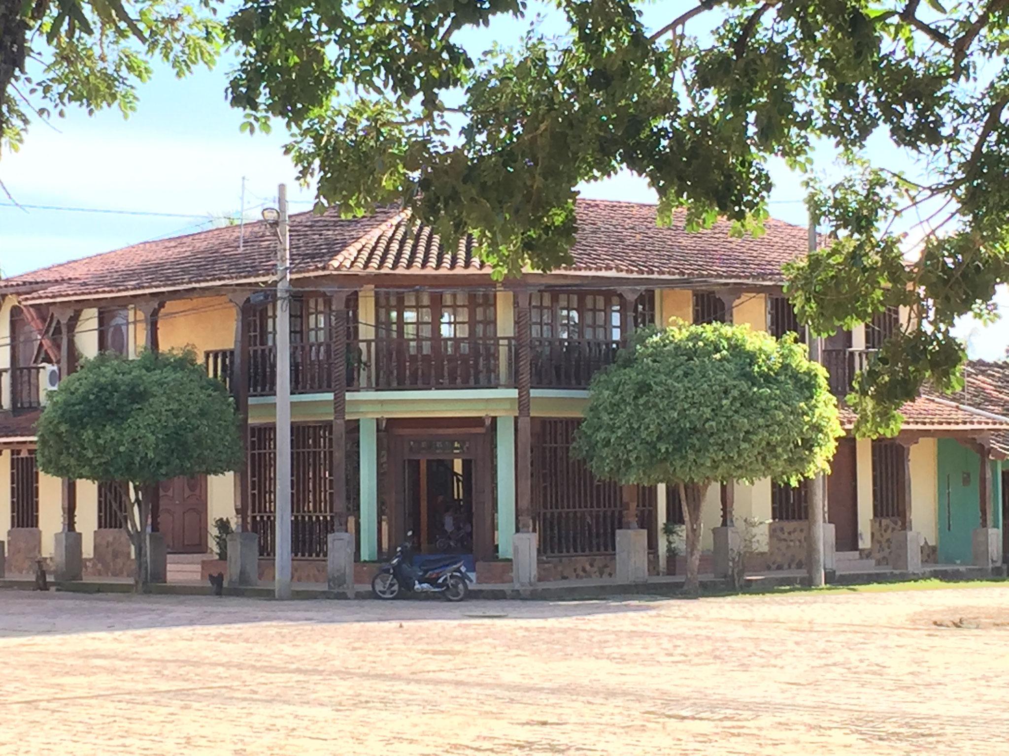 San Ignacio de Moxos, aus dem Dorfplatz