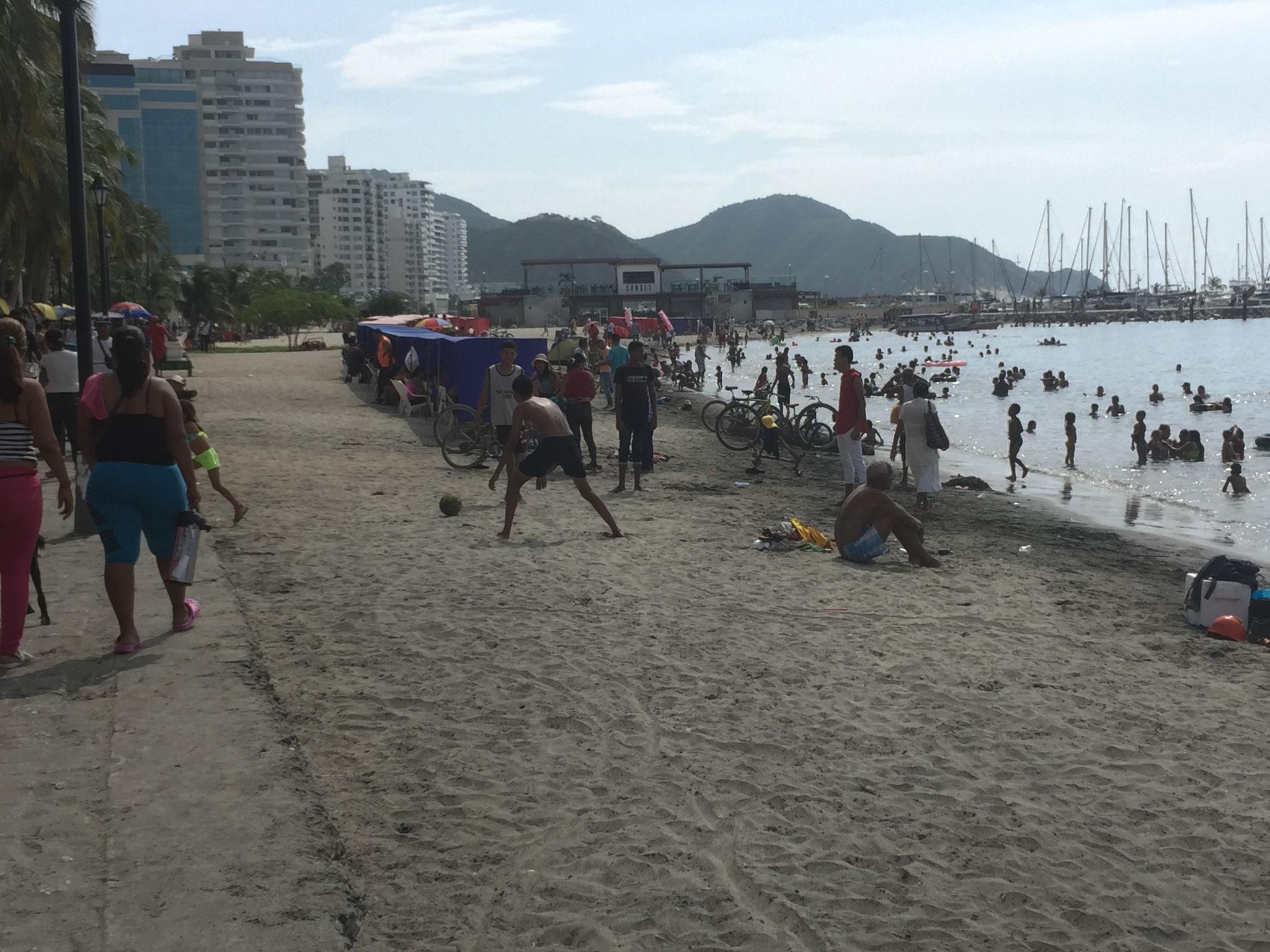 Strand in Santa Marta