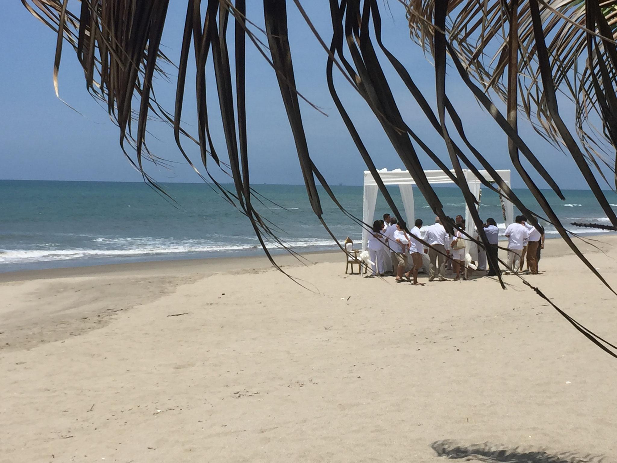 Hochzeit am Strand!