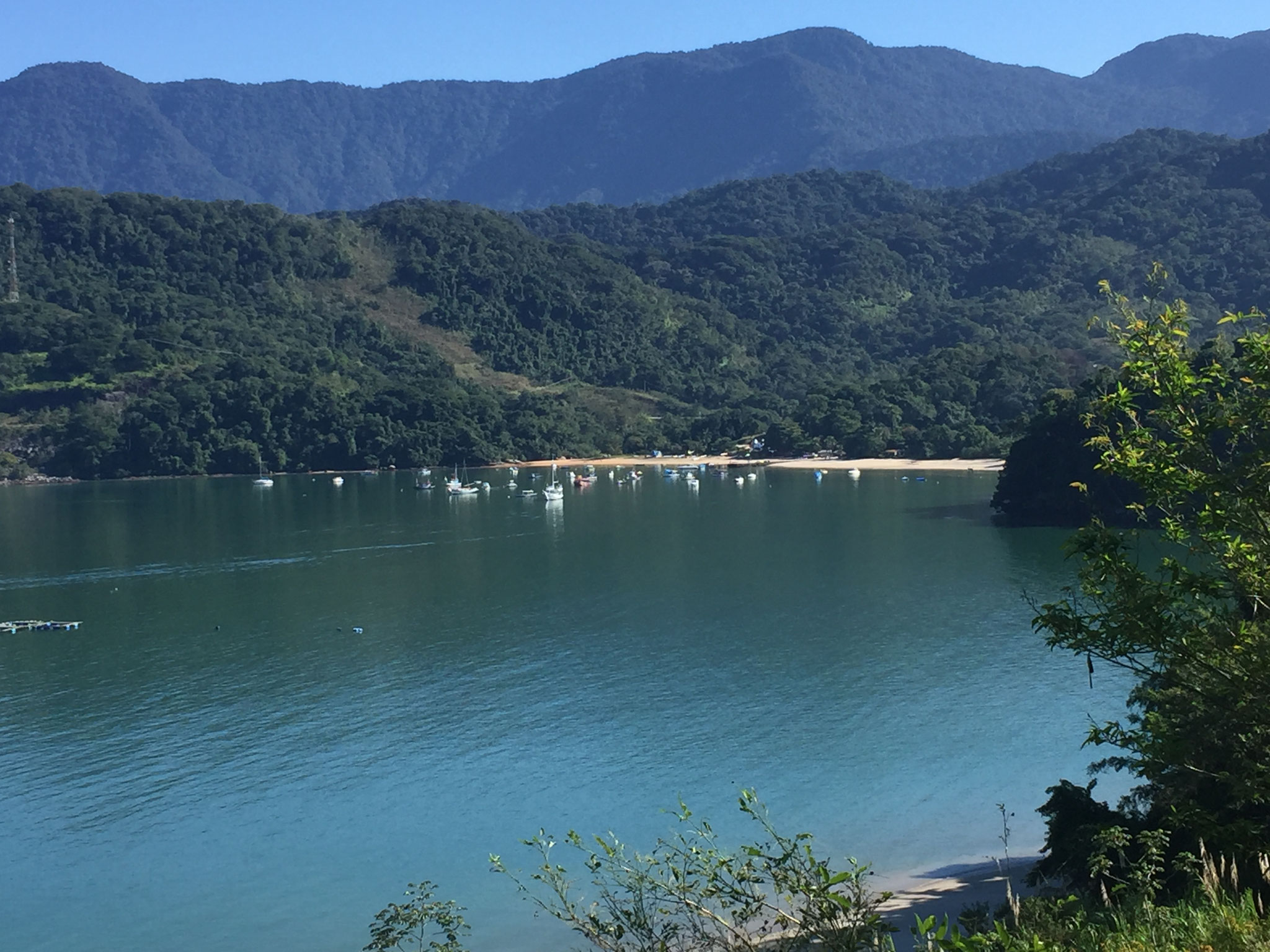 An der Küste entlang Richtung Rio