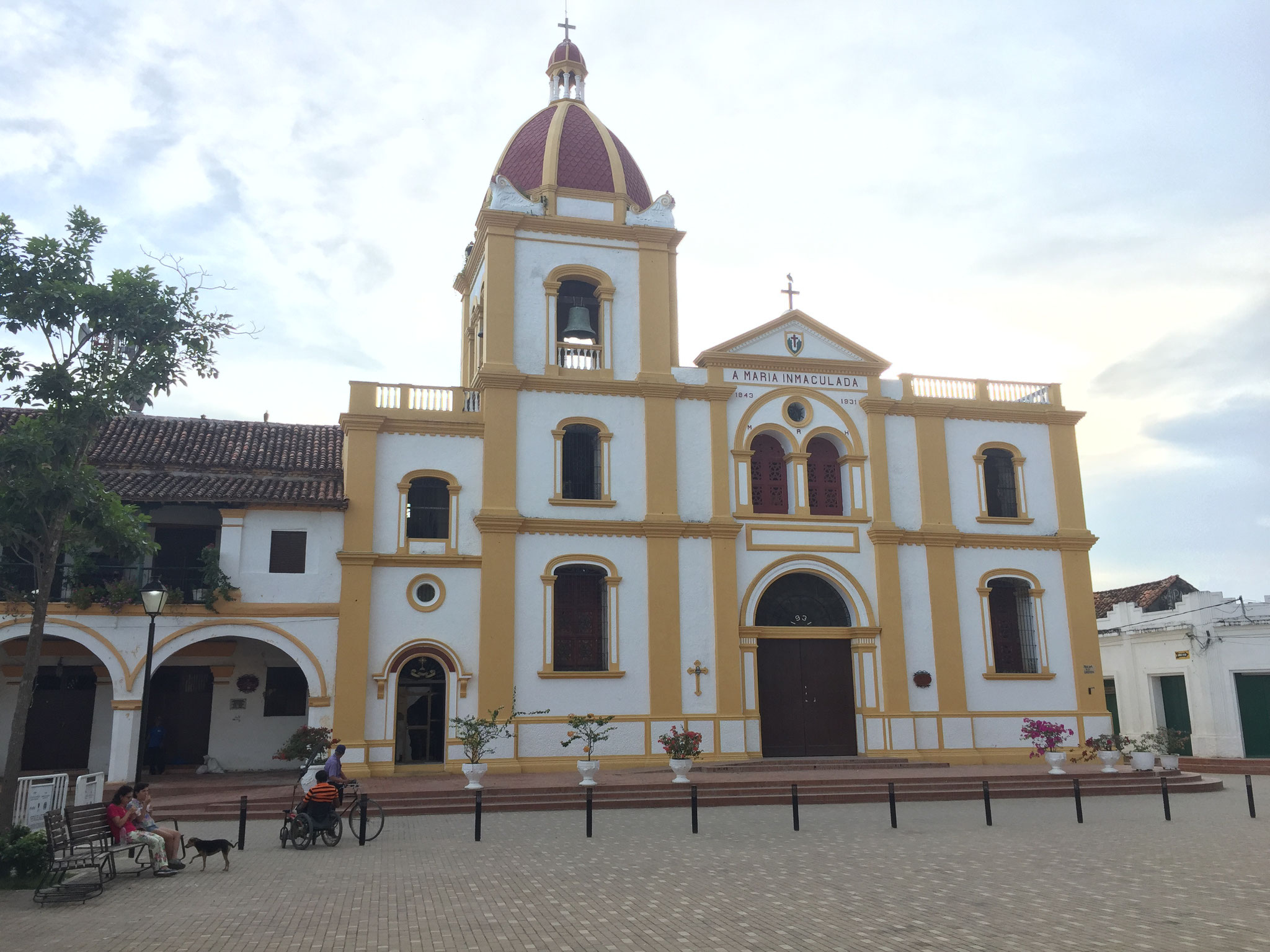 Mompox, Kirche Domingo