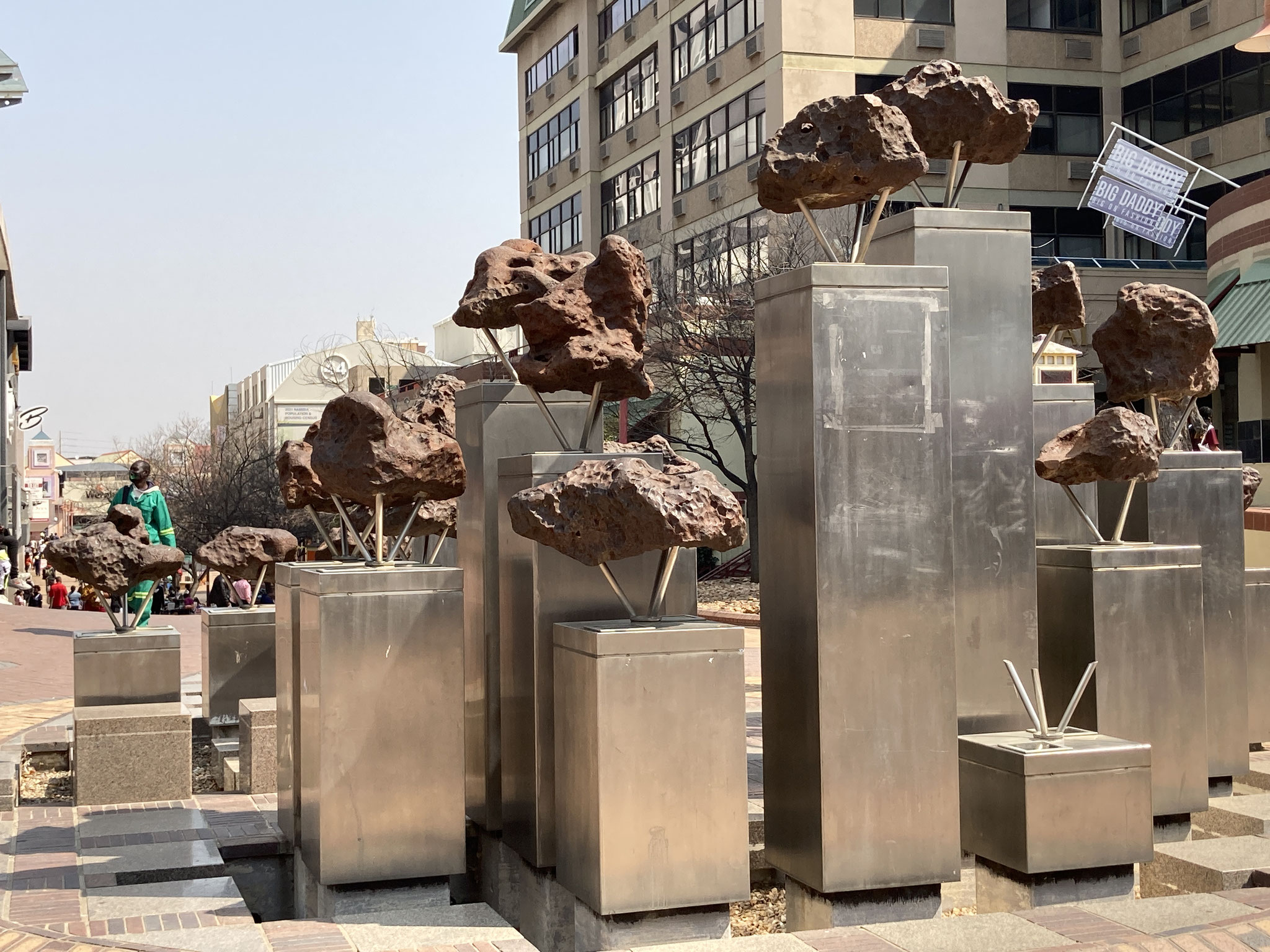 Metecoritenbrunnen