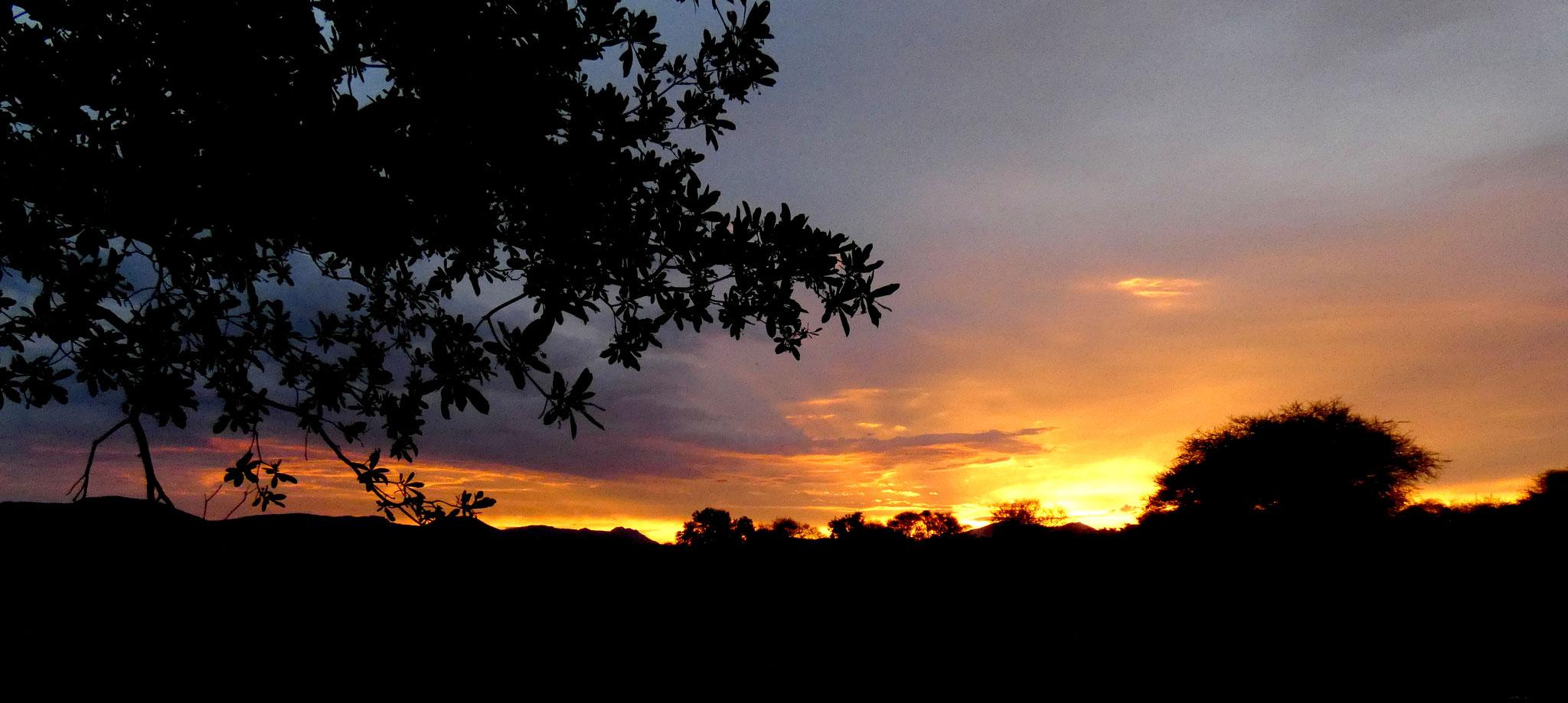 Sonnenuntergang Nationalpark Marakele