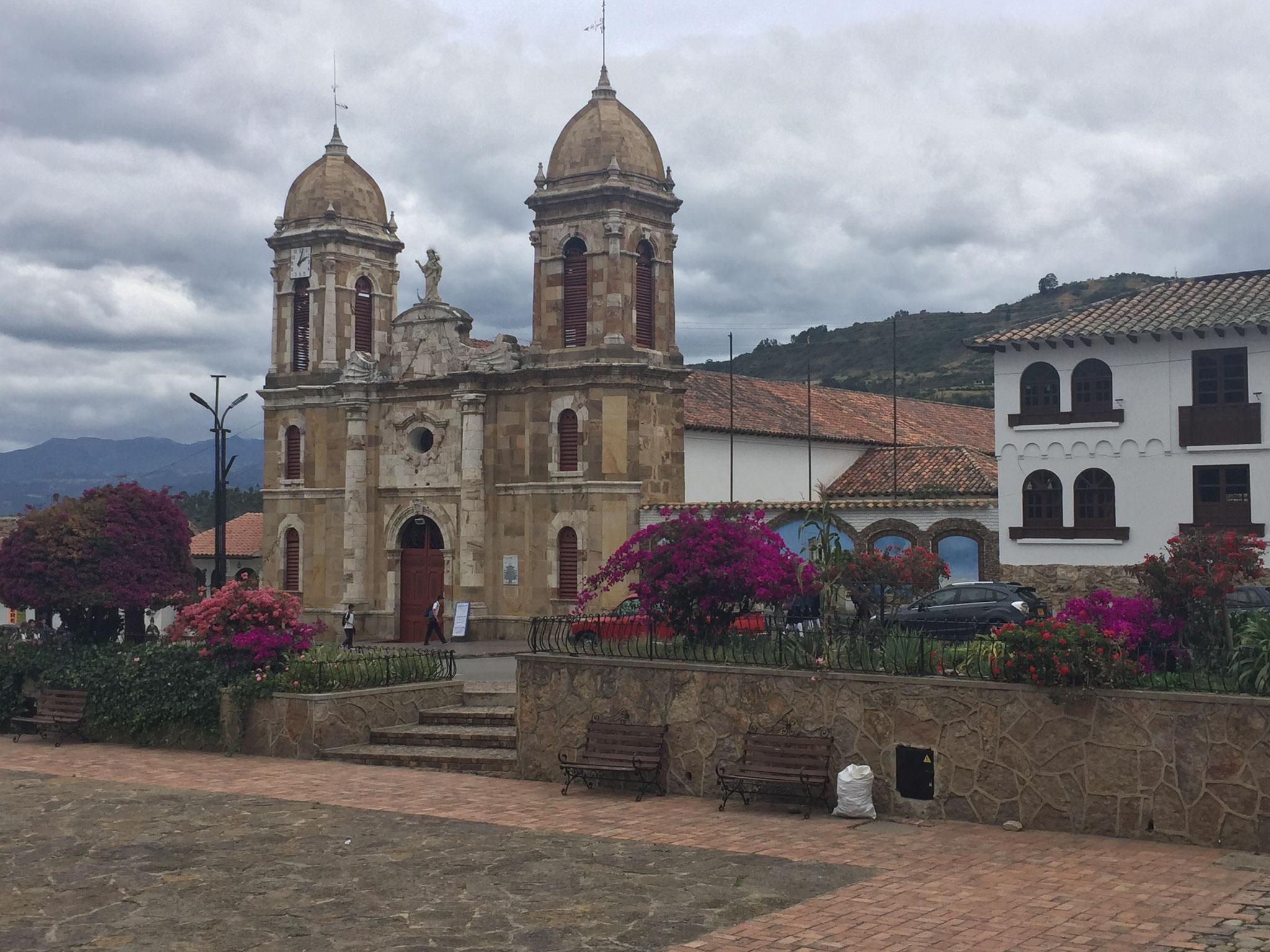 Kirche in Tibascua......