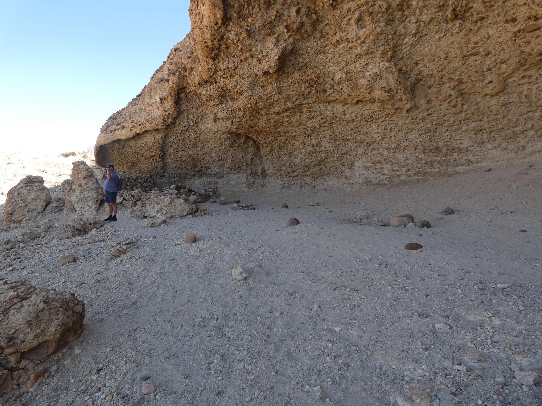 Schelter der Geologen