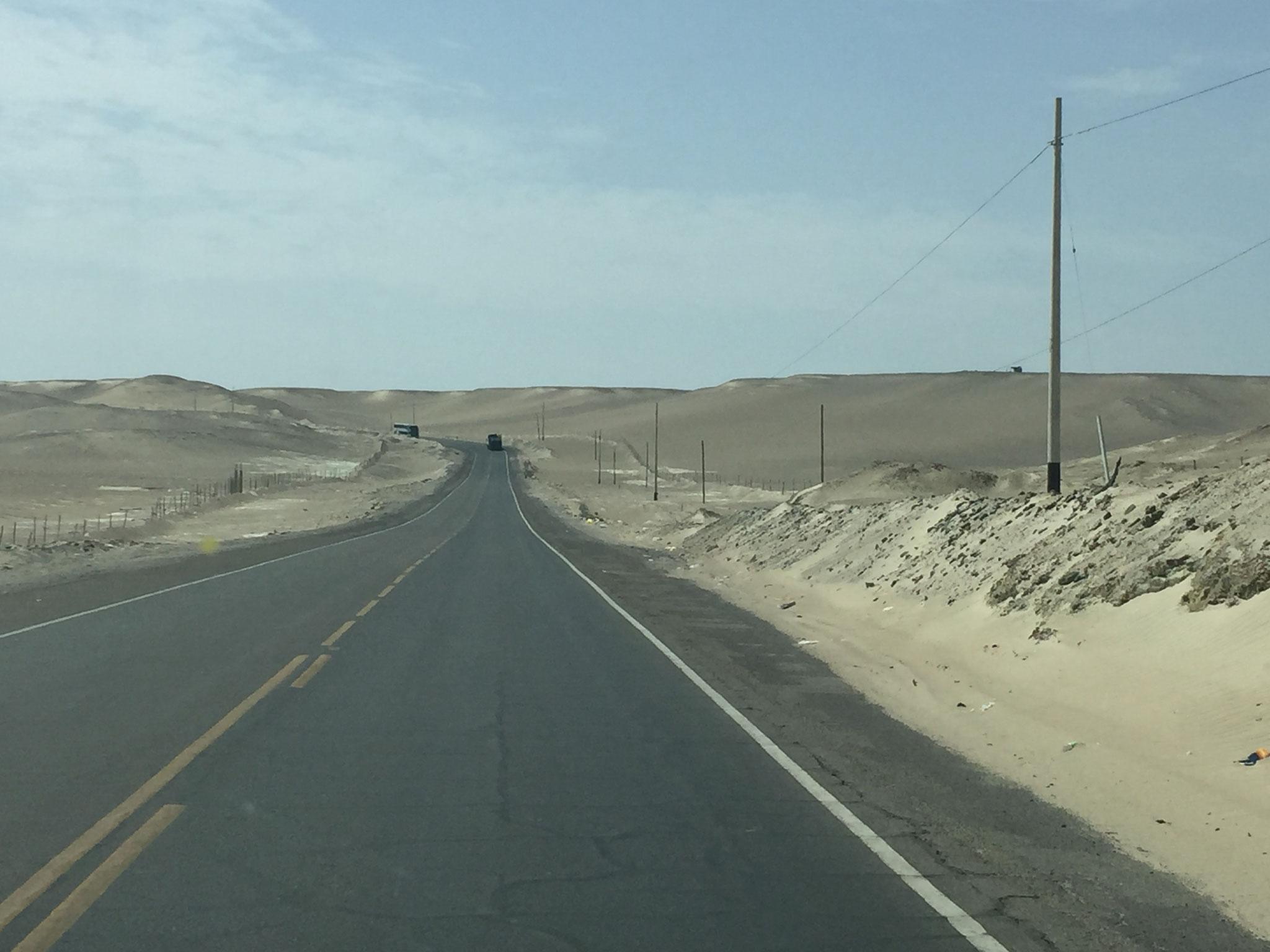 """Weiter der Küste entlang im """"Sand"""""""