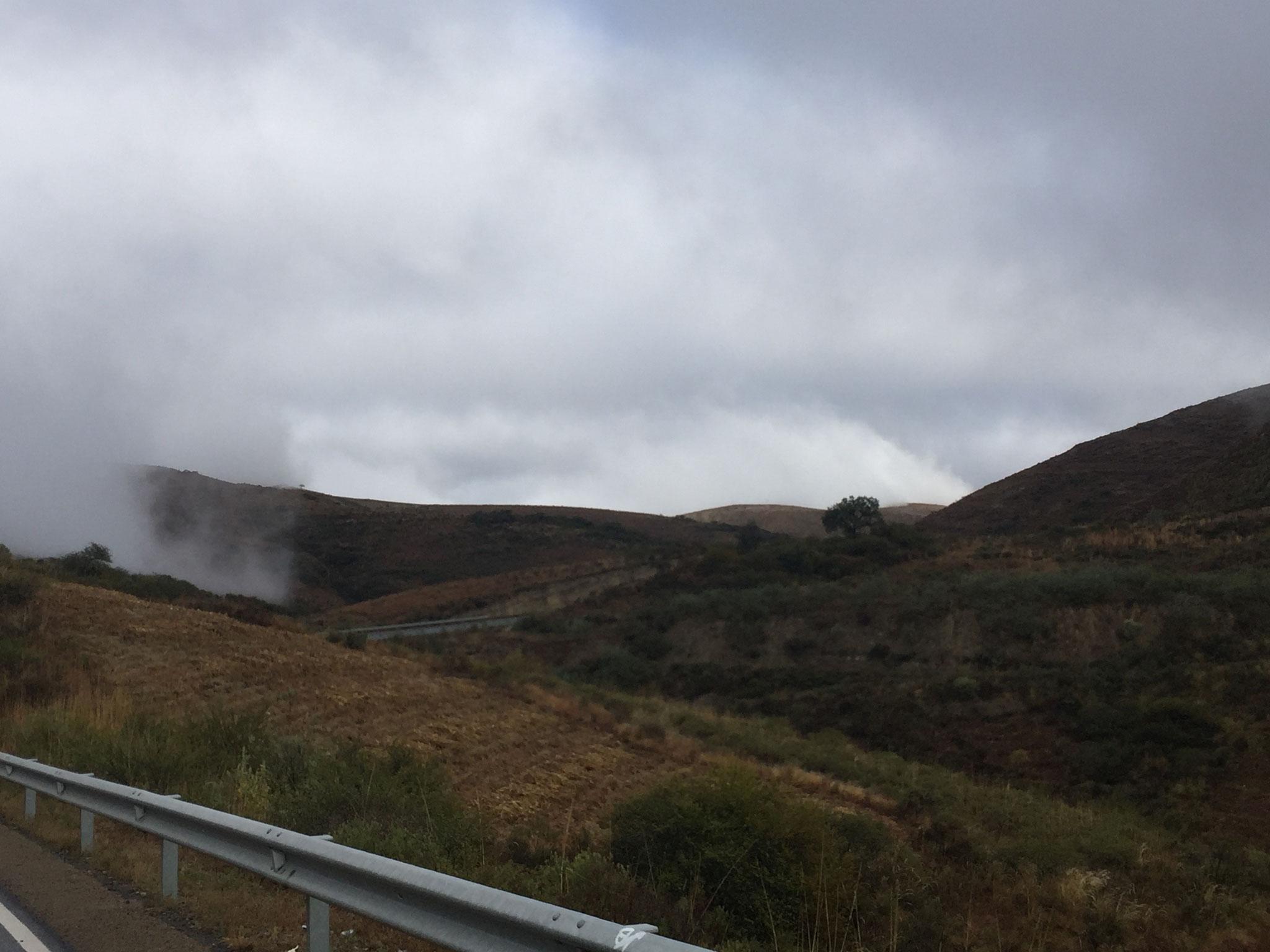 ....und dann Nebelmeer....