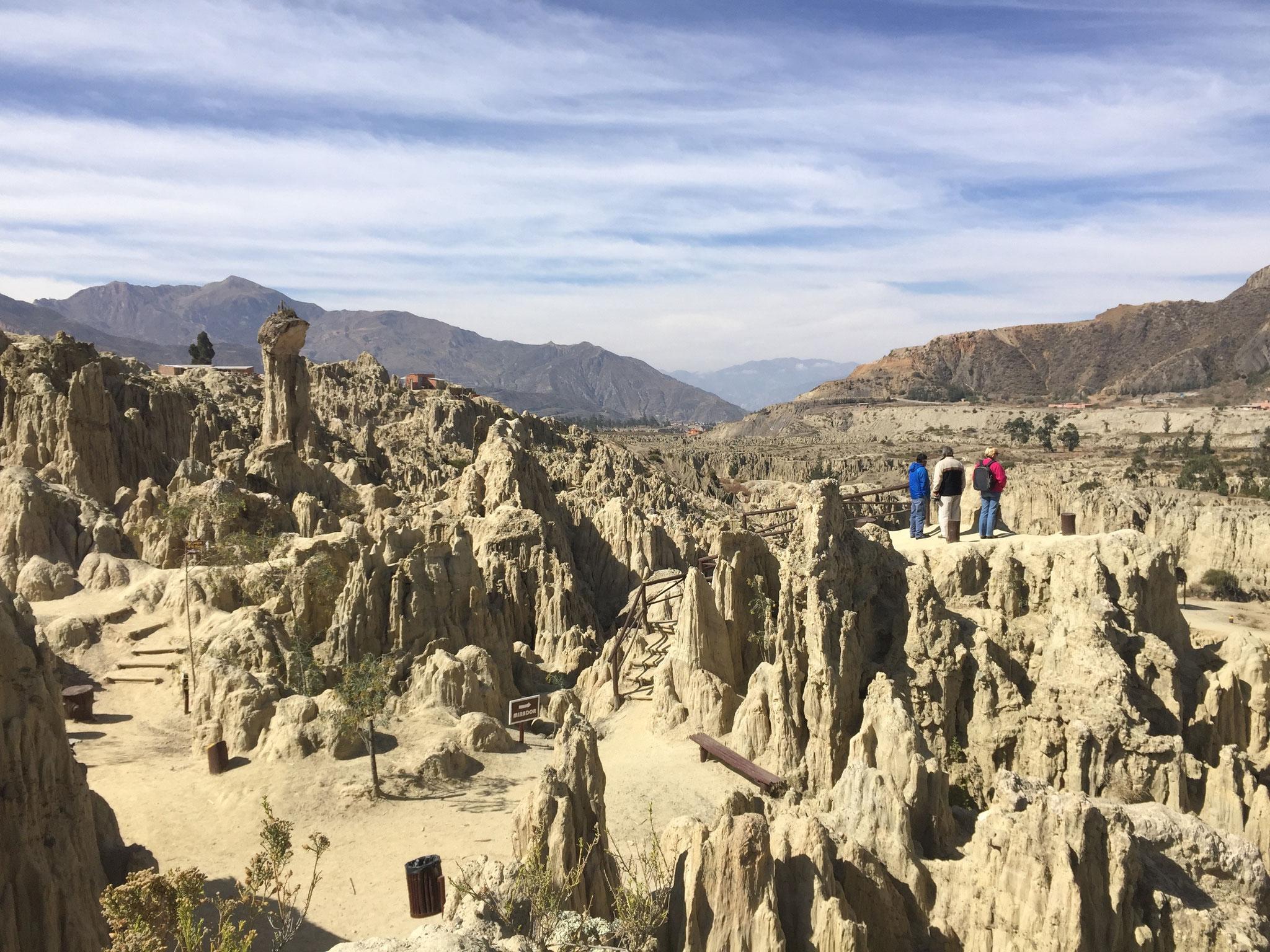 Valle de Luna in La Paz