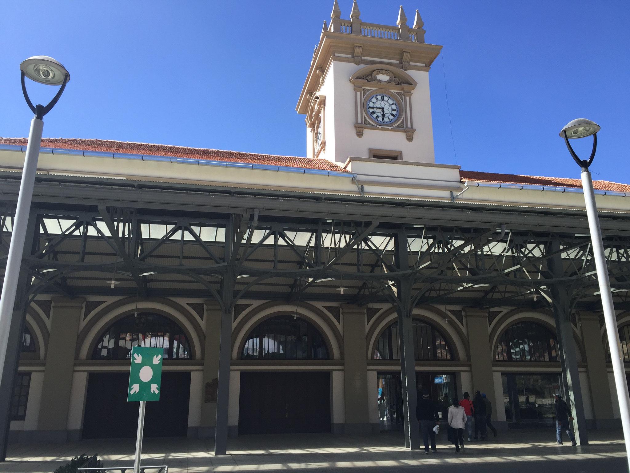 alter Bahnhof in La Paz