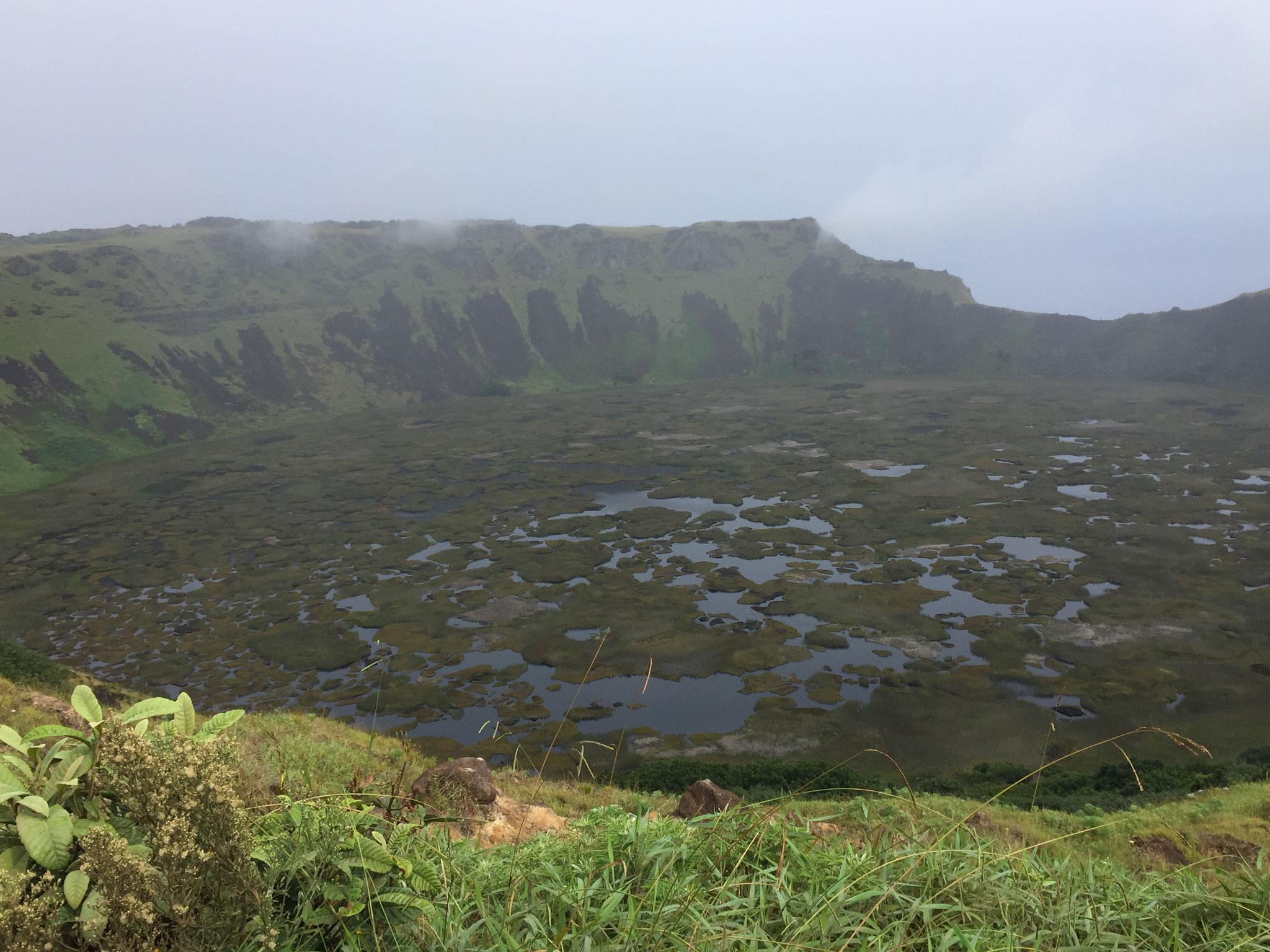 Vulkansee Orongo