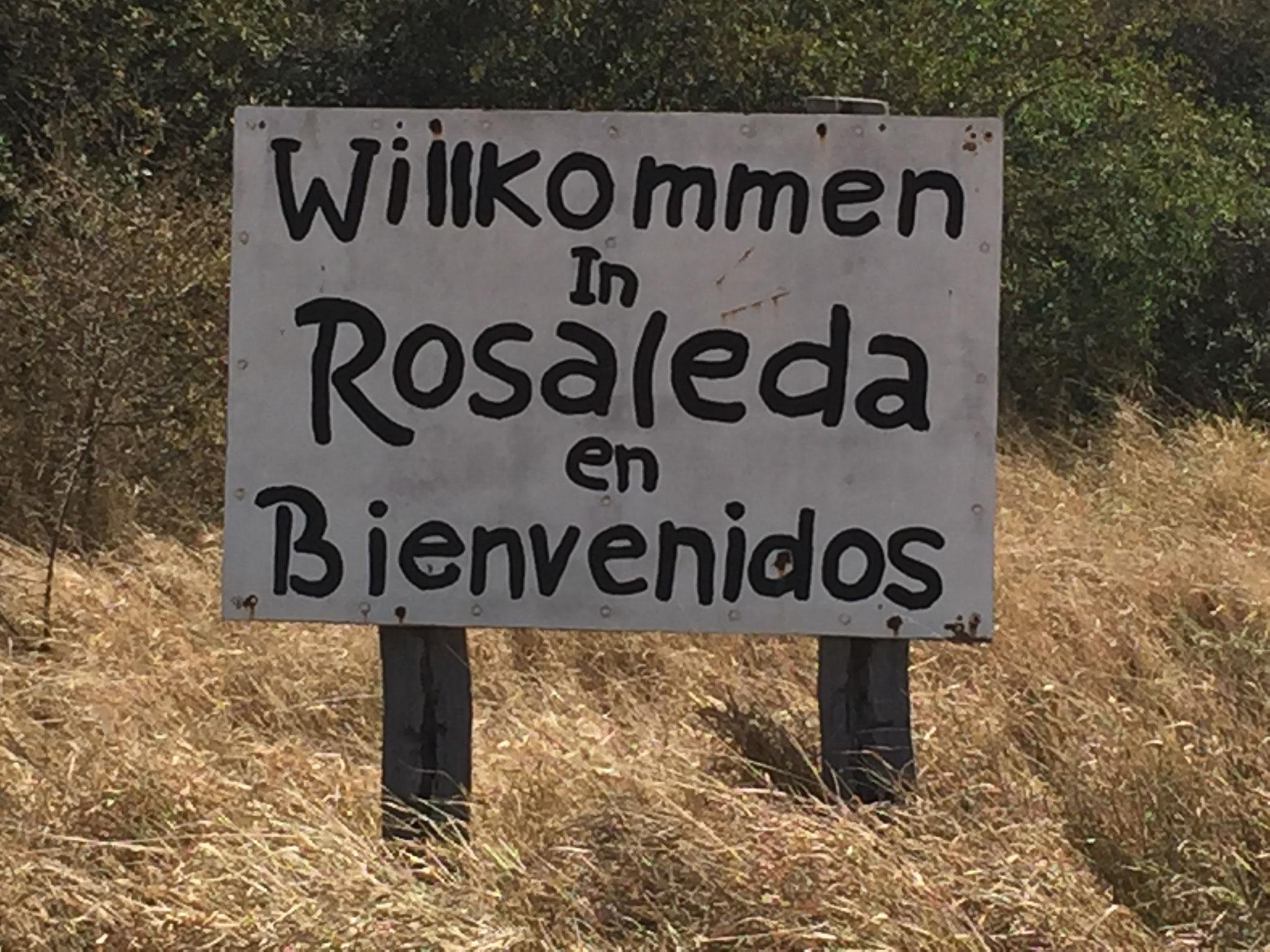 Rosaleda, das Schweizerdorf