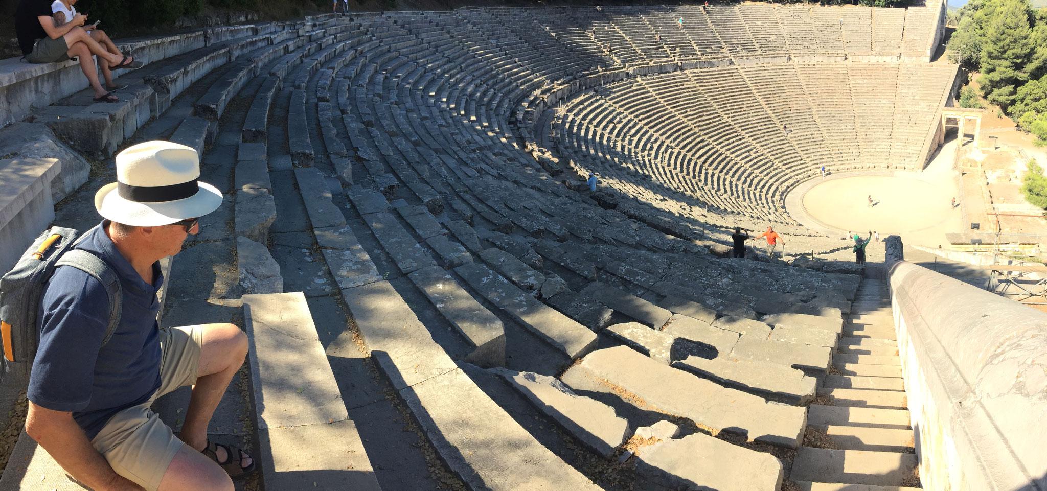 Epidauros, das grösste Amphitheater
