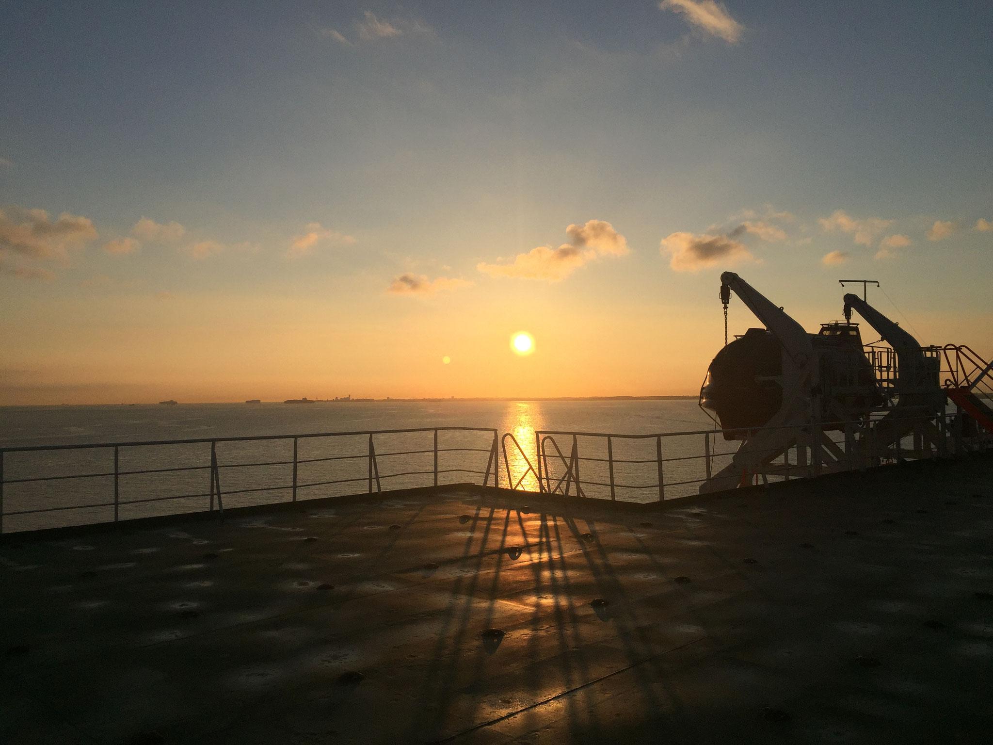 letzter Sonnenuntergang