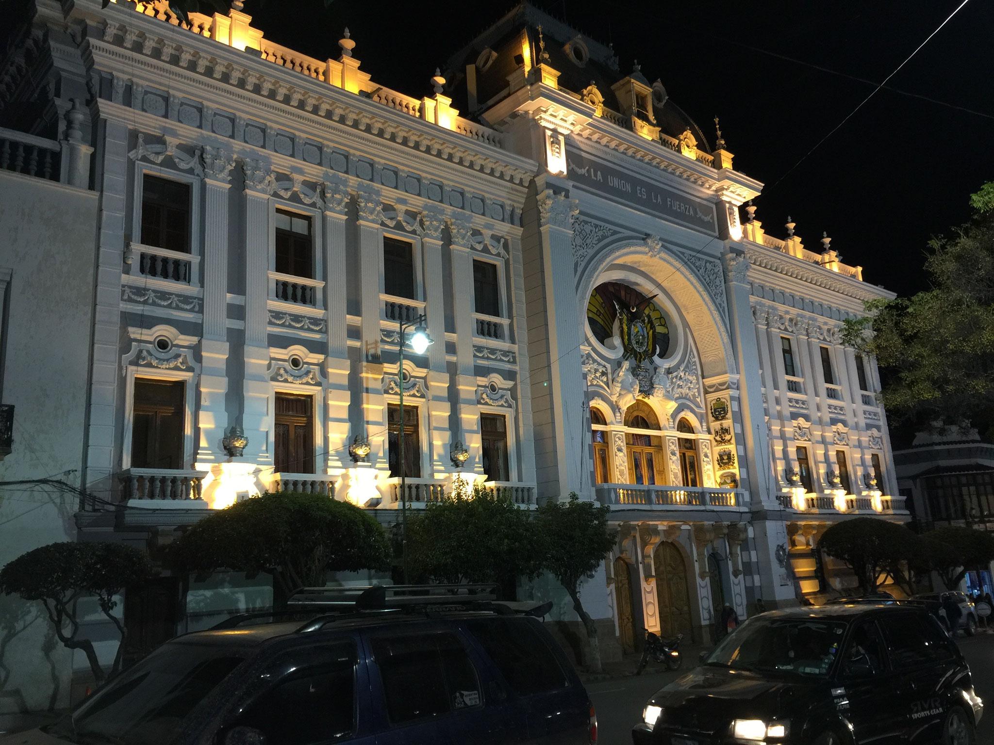 Hauptplatz in der Nacht