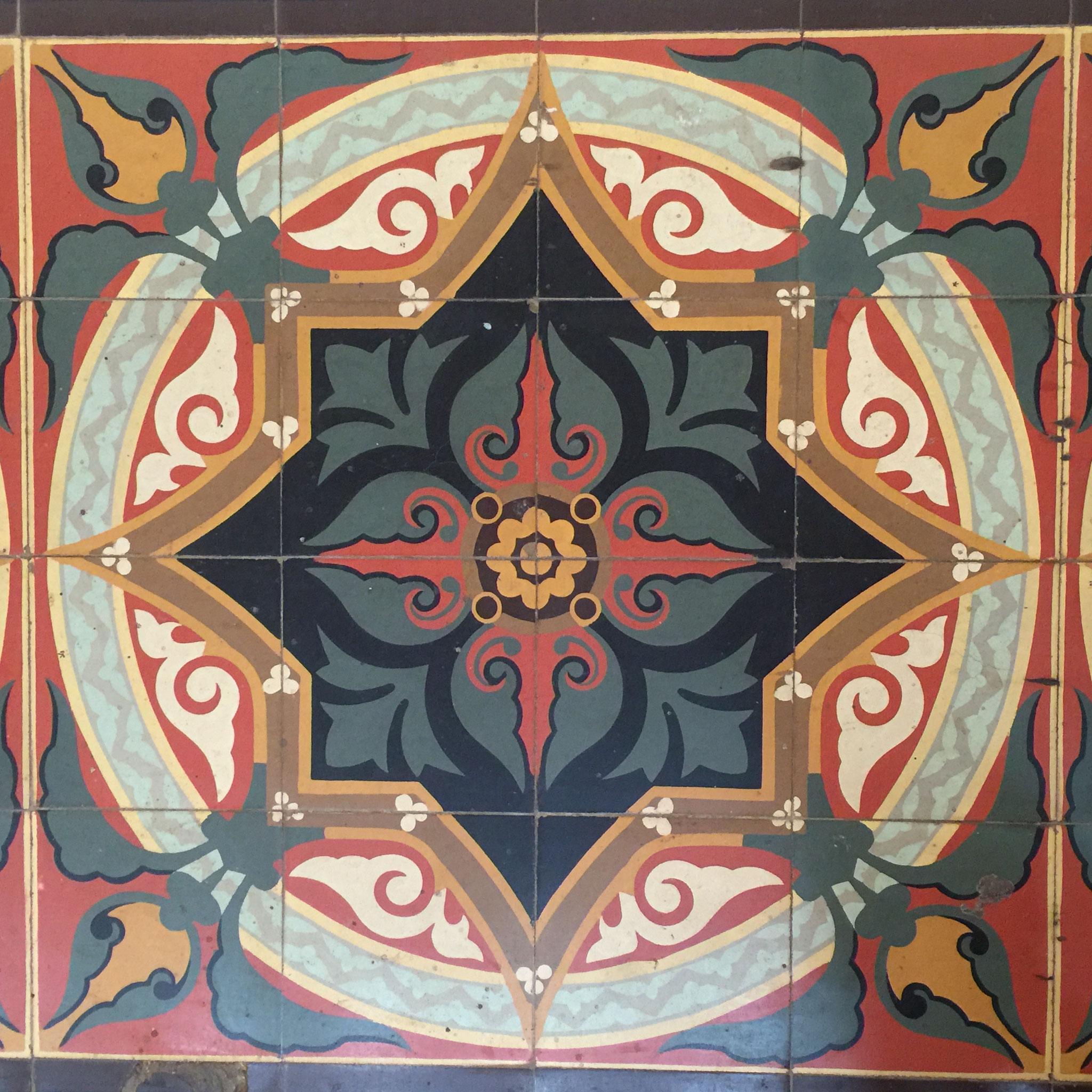 ..... wunderschöne Bodenplatten