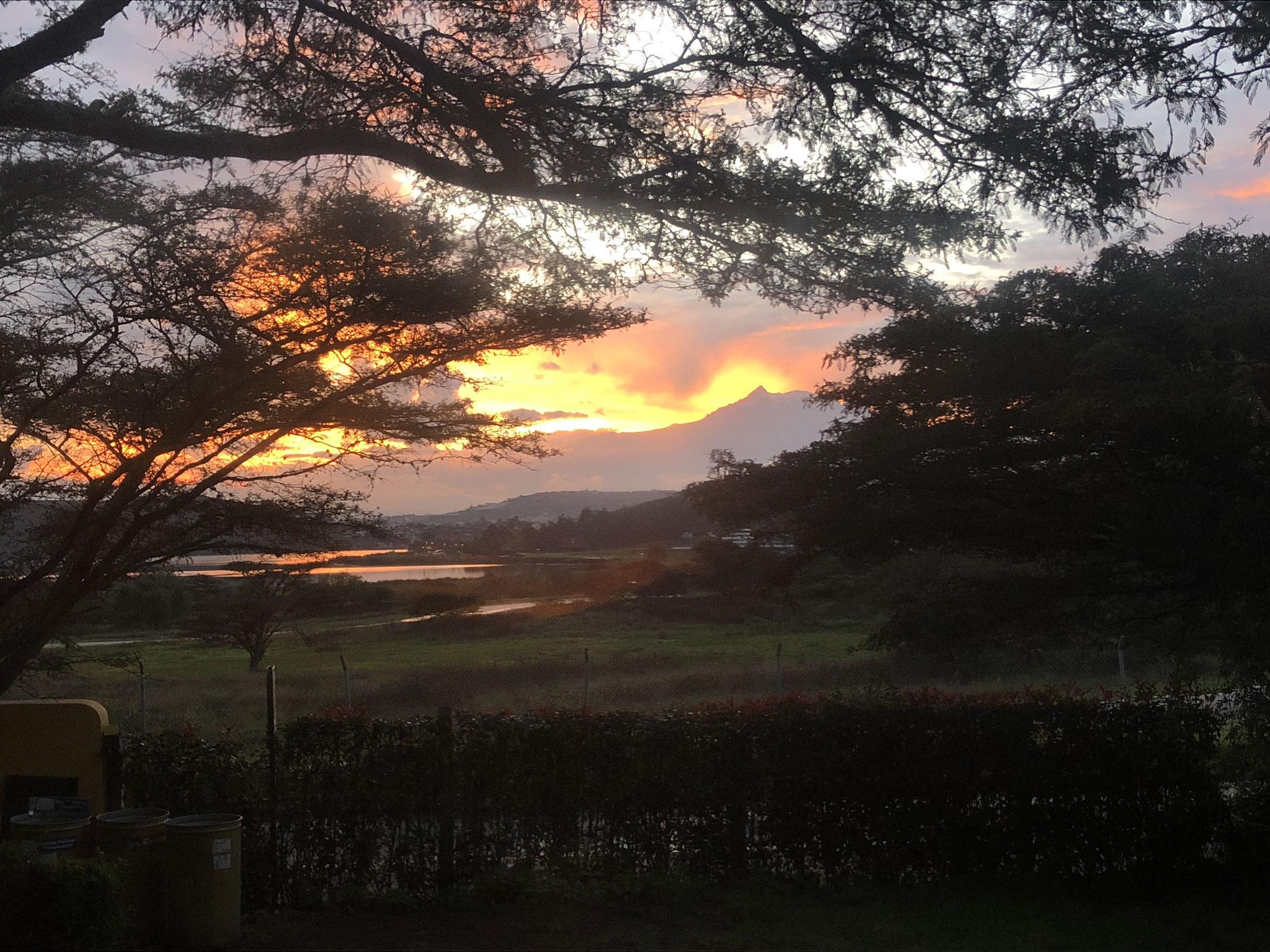 Sonnenuntergang in Ibarra