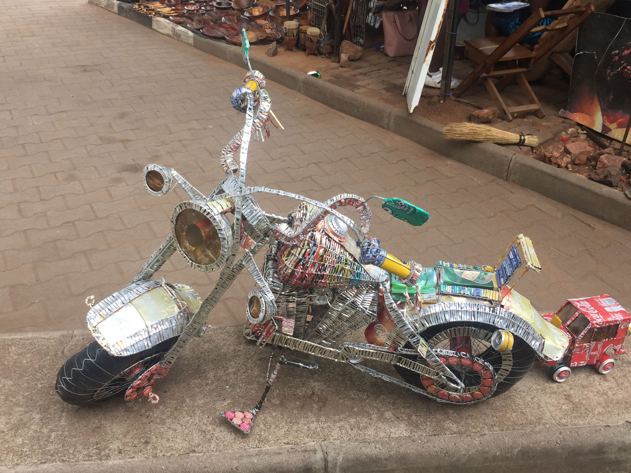 Motorräder aus Büchsen