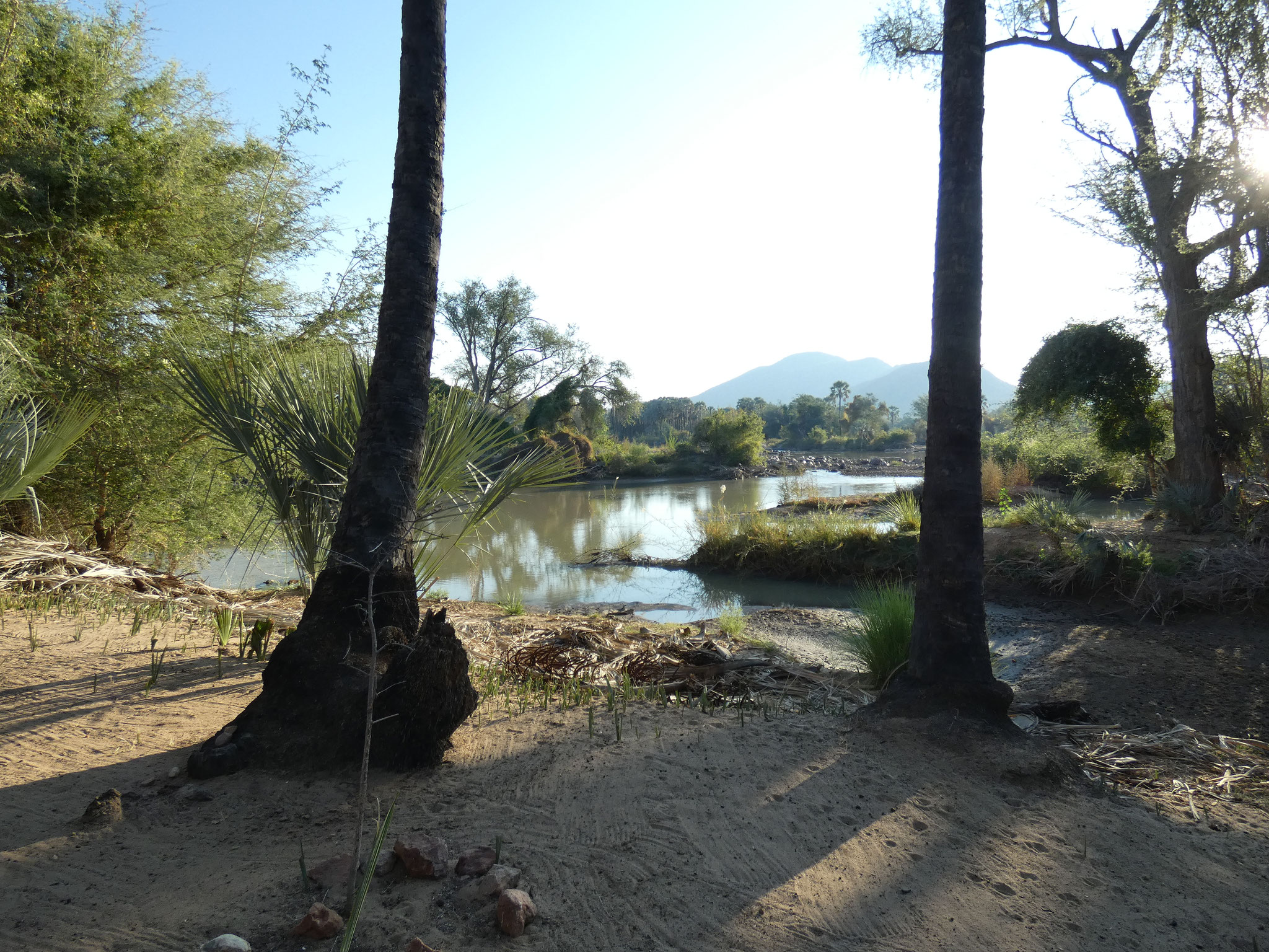 Camping  Epupa