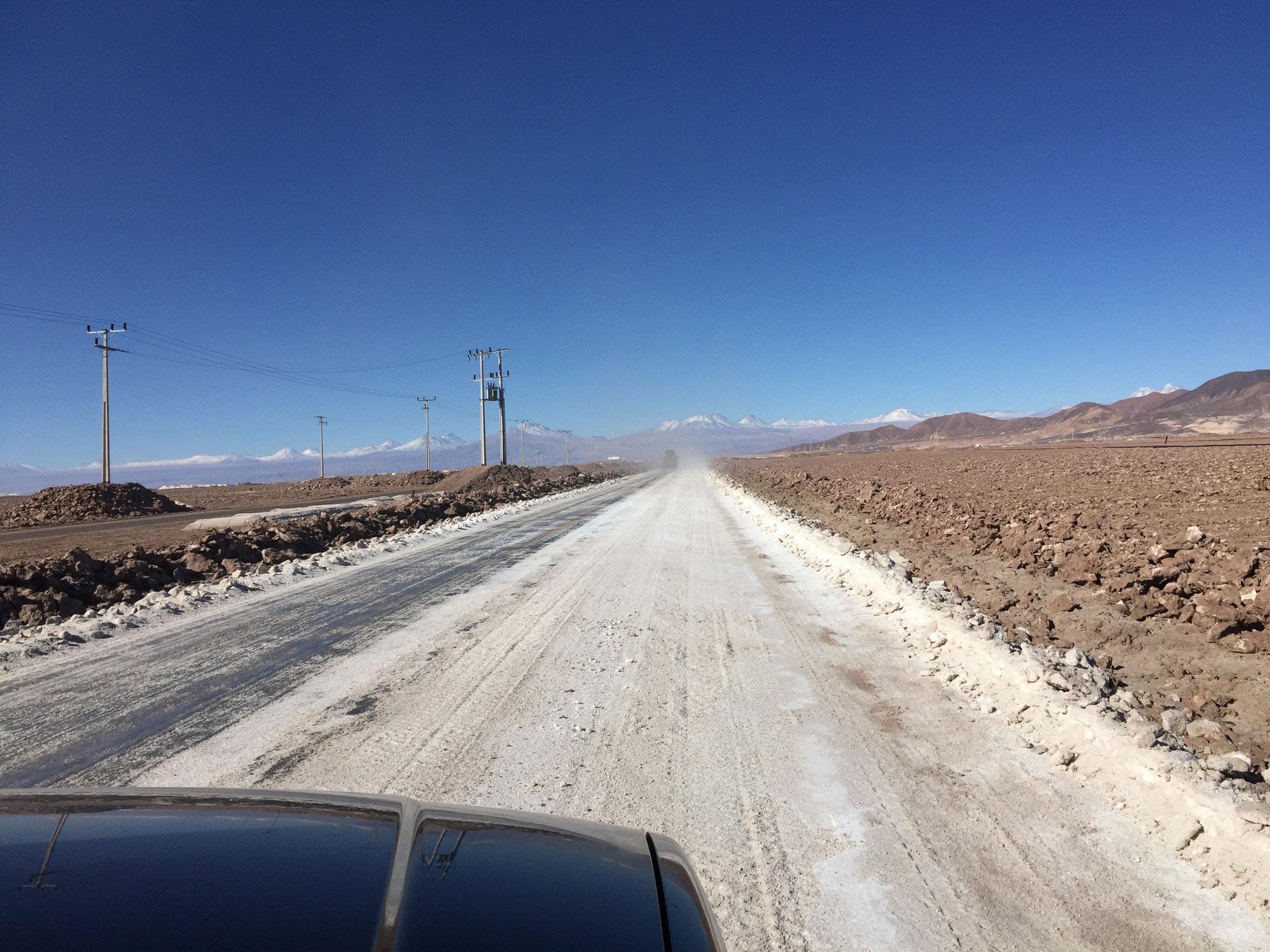 Auf dem Salat Atacama...